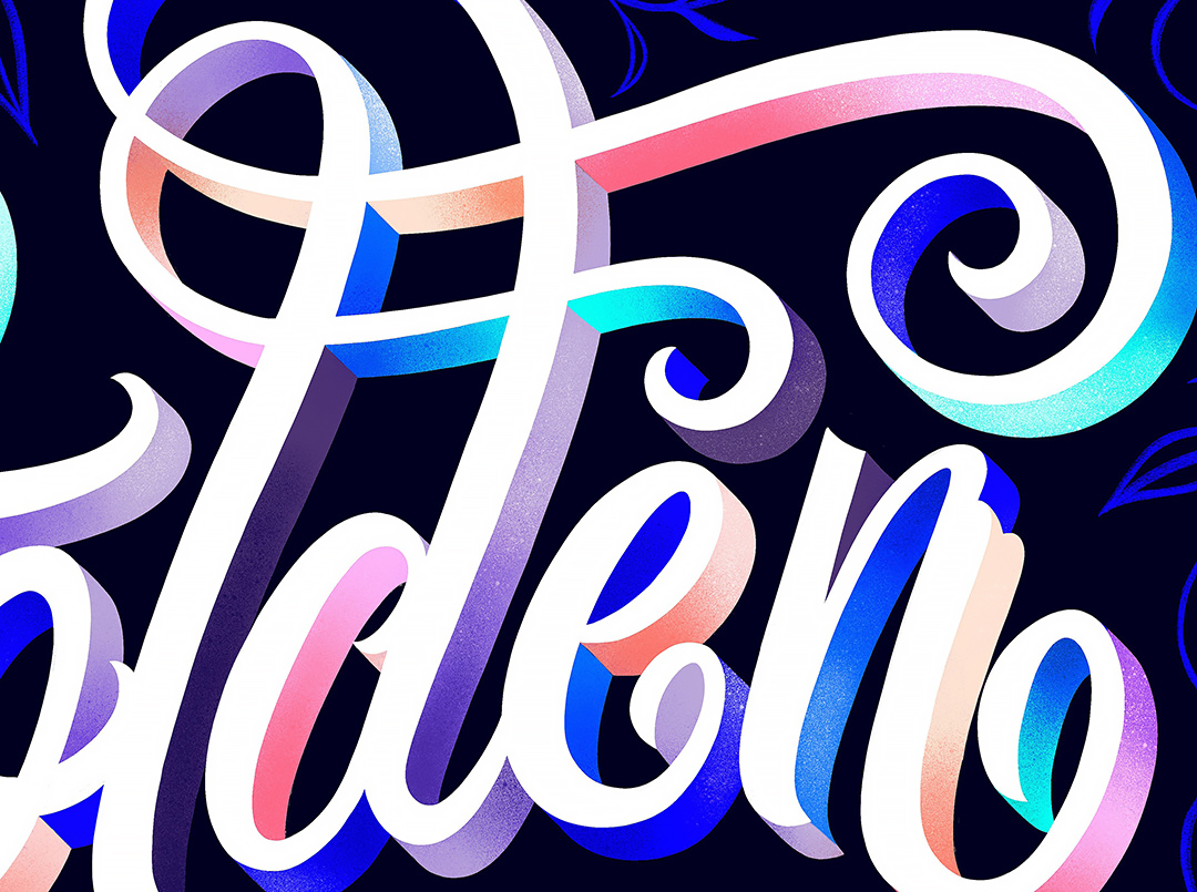Lettering - ILLUSTRATION, CREATIVE DIRECTION