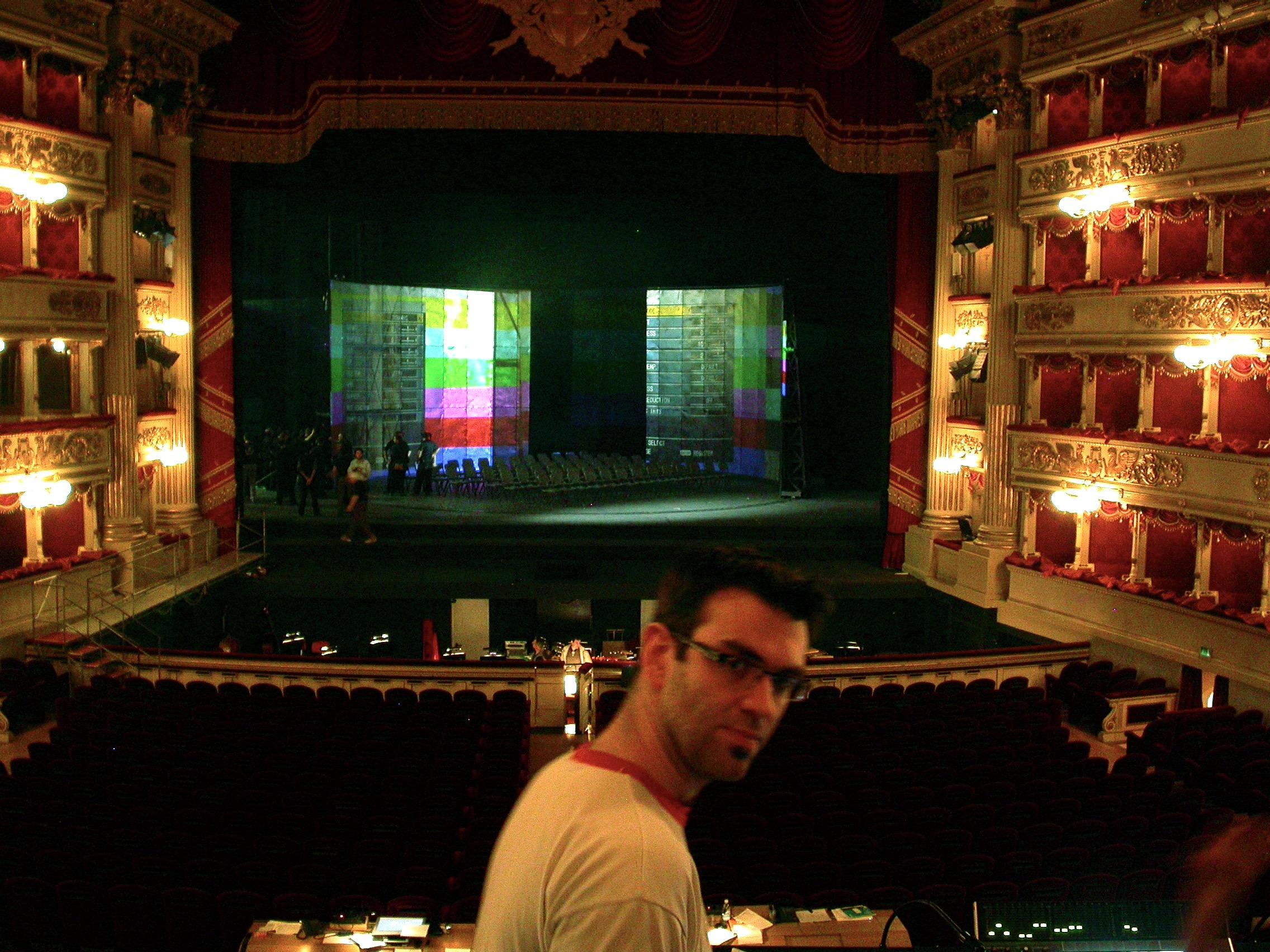 La Scala, Milan ©Jacques Collin