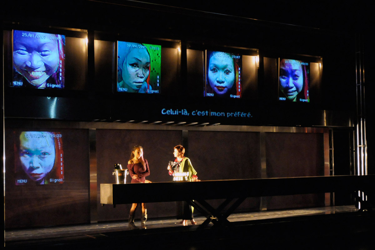 THEATRE     The Blue Dragon  Ex Machina/Robert Lepage   Music and sound design