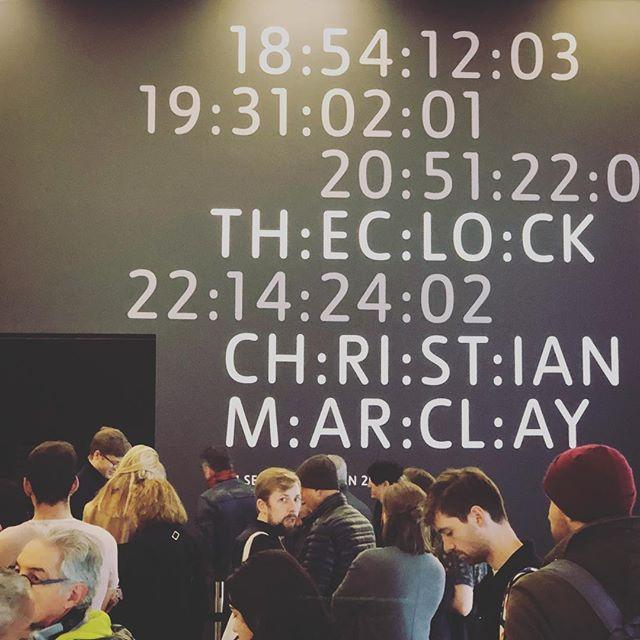 #theclockattate #christianmarclay #tatemodern #london