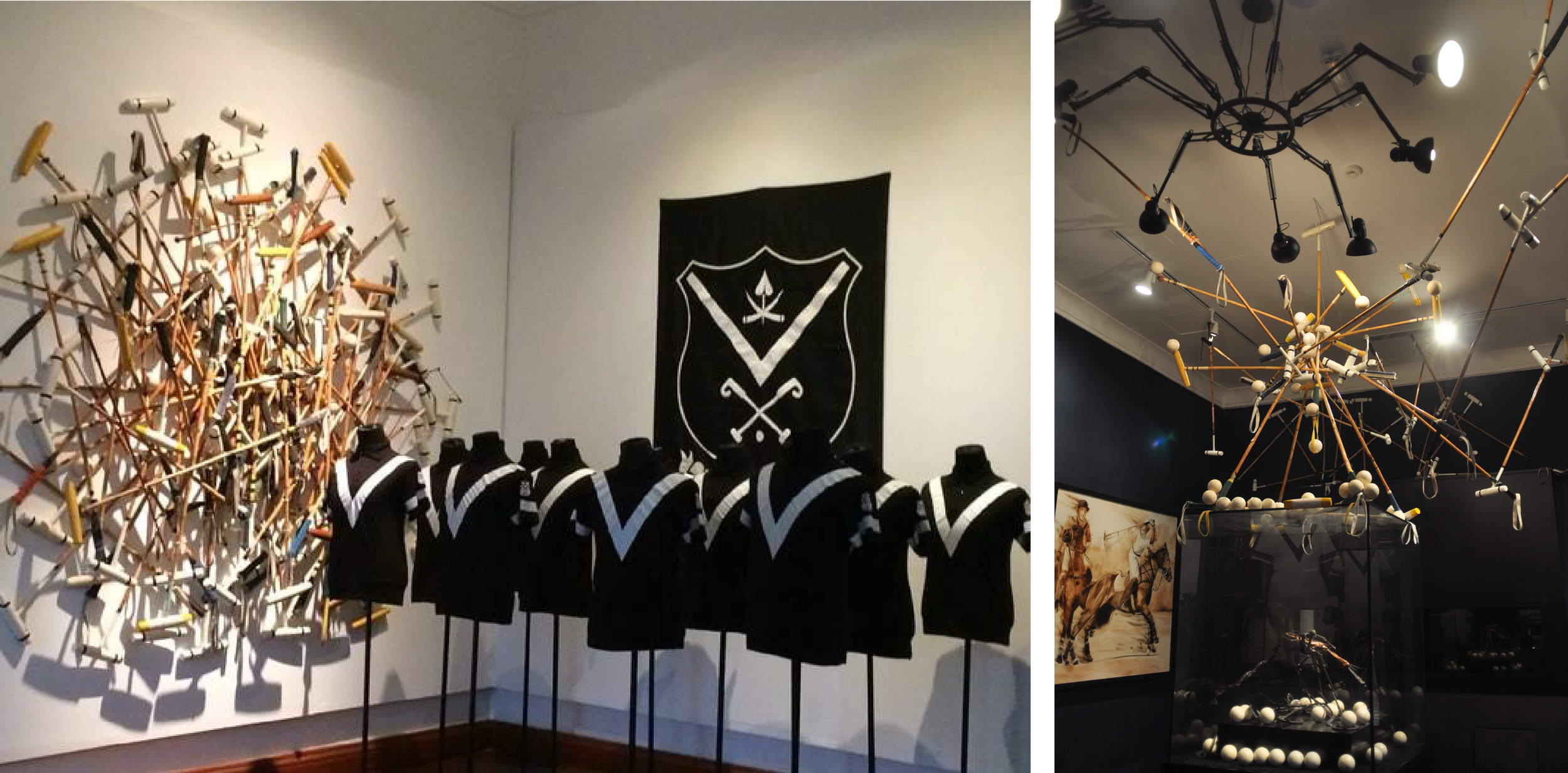 The Pahang Sultanate Gallery: A section dedicated to the Royal Pahang Polo Club. The installations of intertwined polo clubs reflect the intense rivalry and rush of adrenaline experienced during a polo match, especially when some of the world's top polo teams visit Pekan annually to battle for the championship trophy.