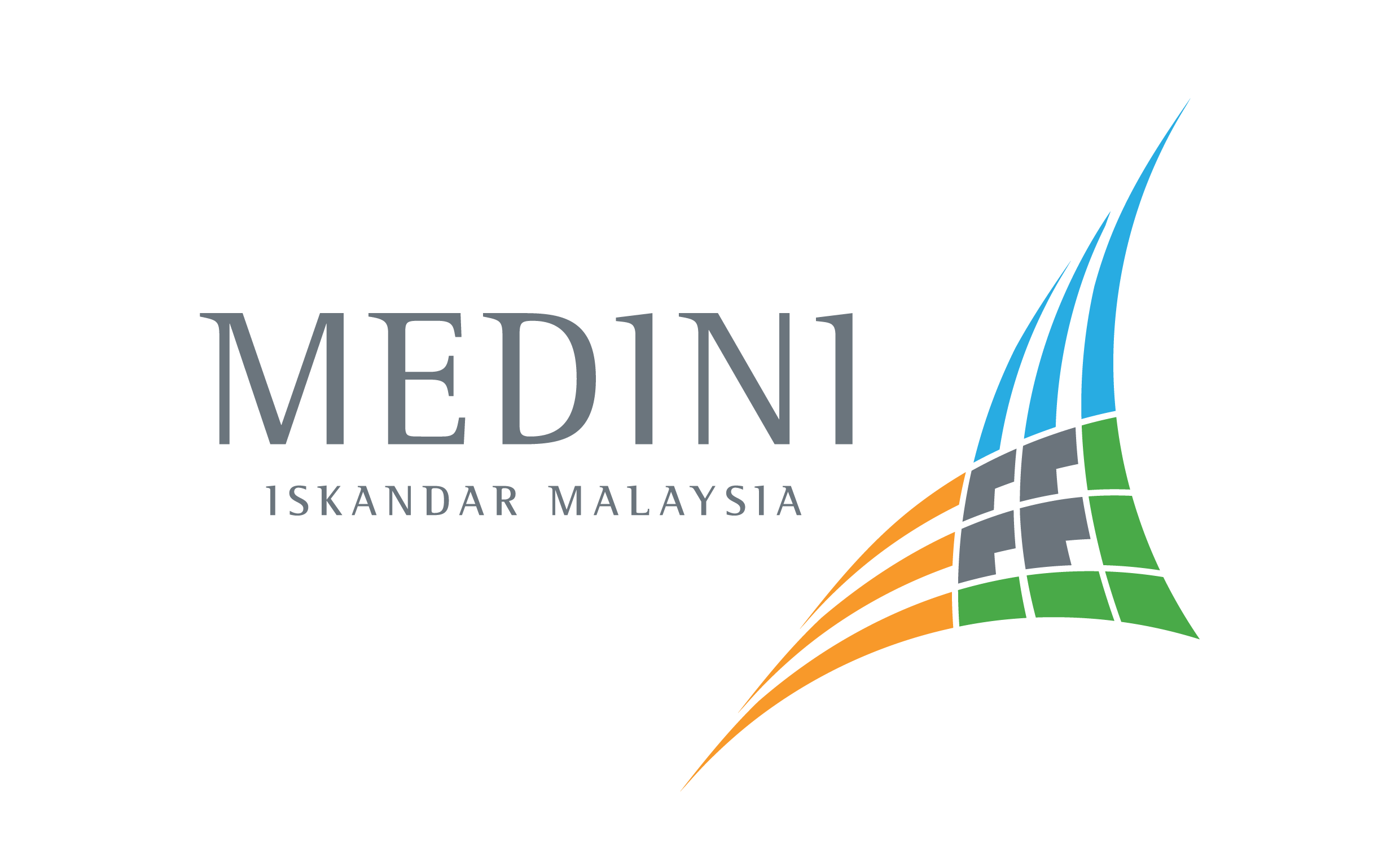 The Medini logo was designed in 2008 by Y&R Malaysia. We had to incorporate the logo into our signs.
