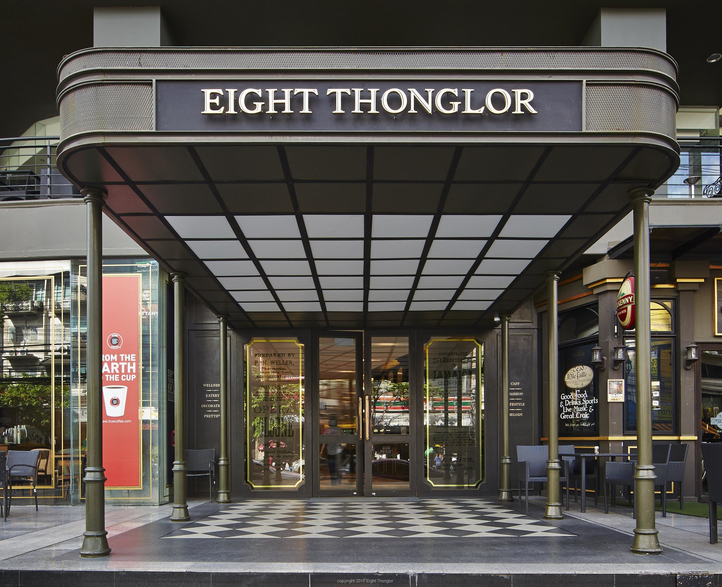 Tempo Thonglor was later renamed Ei8ht Thonglor due to a fortuitous change in their address, where they are able to take advantage of the double digit in their new lot number, 88/36.
