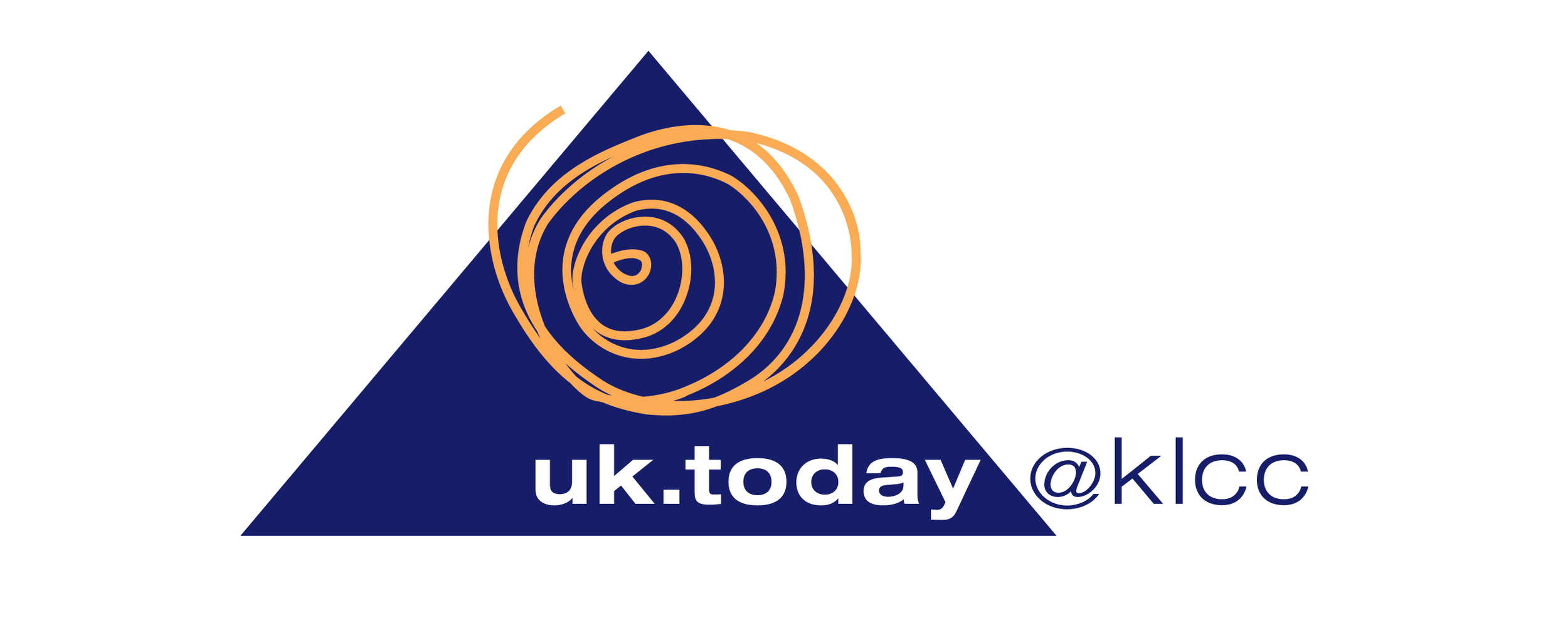The logo was based on the pyramid structure and the circular forms of the exhibition layout.