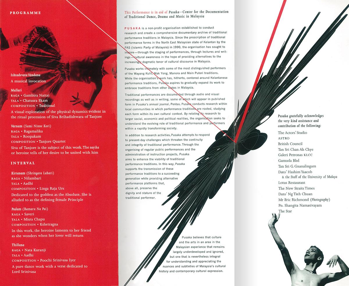 Programme leaflet (back)
