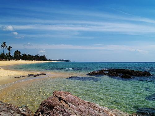 Teluk Bidara beachfront