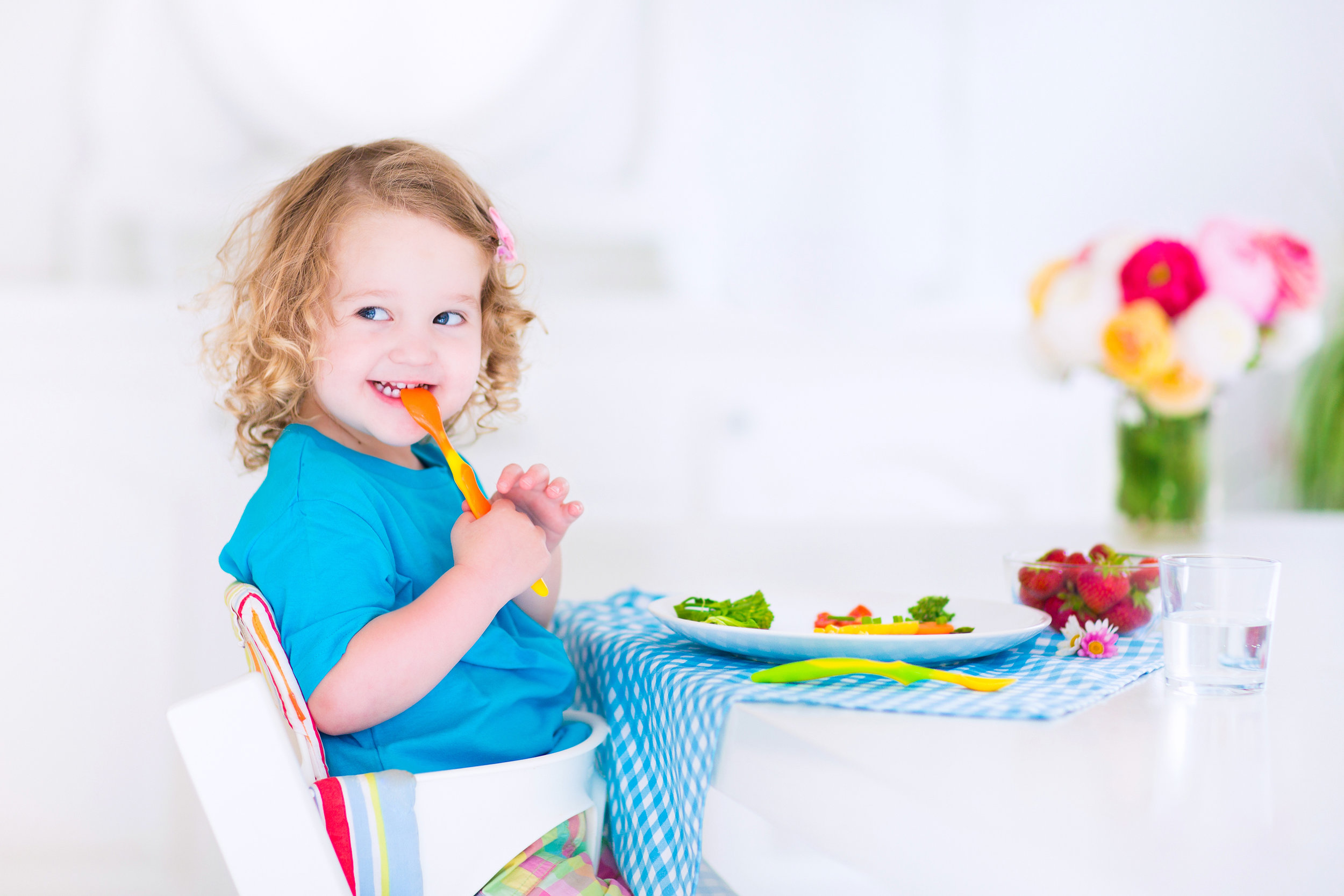 happy healthy fussy eater