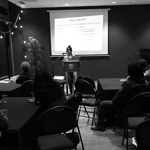 #SOCAN you dig it??? @alberta_music puts on SOCAN 101 tonight with Racquel Villagante, the A&R Rep at #SOCANvancouver