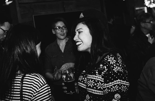 Thanks @alberta_music for having a kick ass holiday mixer!! Such fun was had!! 💬❤️🎉🎁☃️🌲 .......................... 🔁 @alberta_music 📸 @first.night.photo