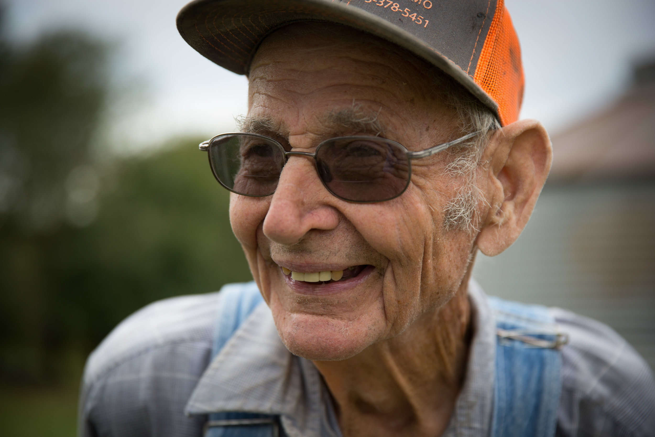 "At 85, Carl Hees is spry, full of energy, enthusiasm, and personality. With a big grin, and a need to stay busy, he is known for saying things like ""Let's get 'er done, baby."" or ""Like Willie Nelson, I'm ready to hit the road."""