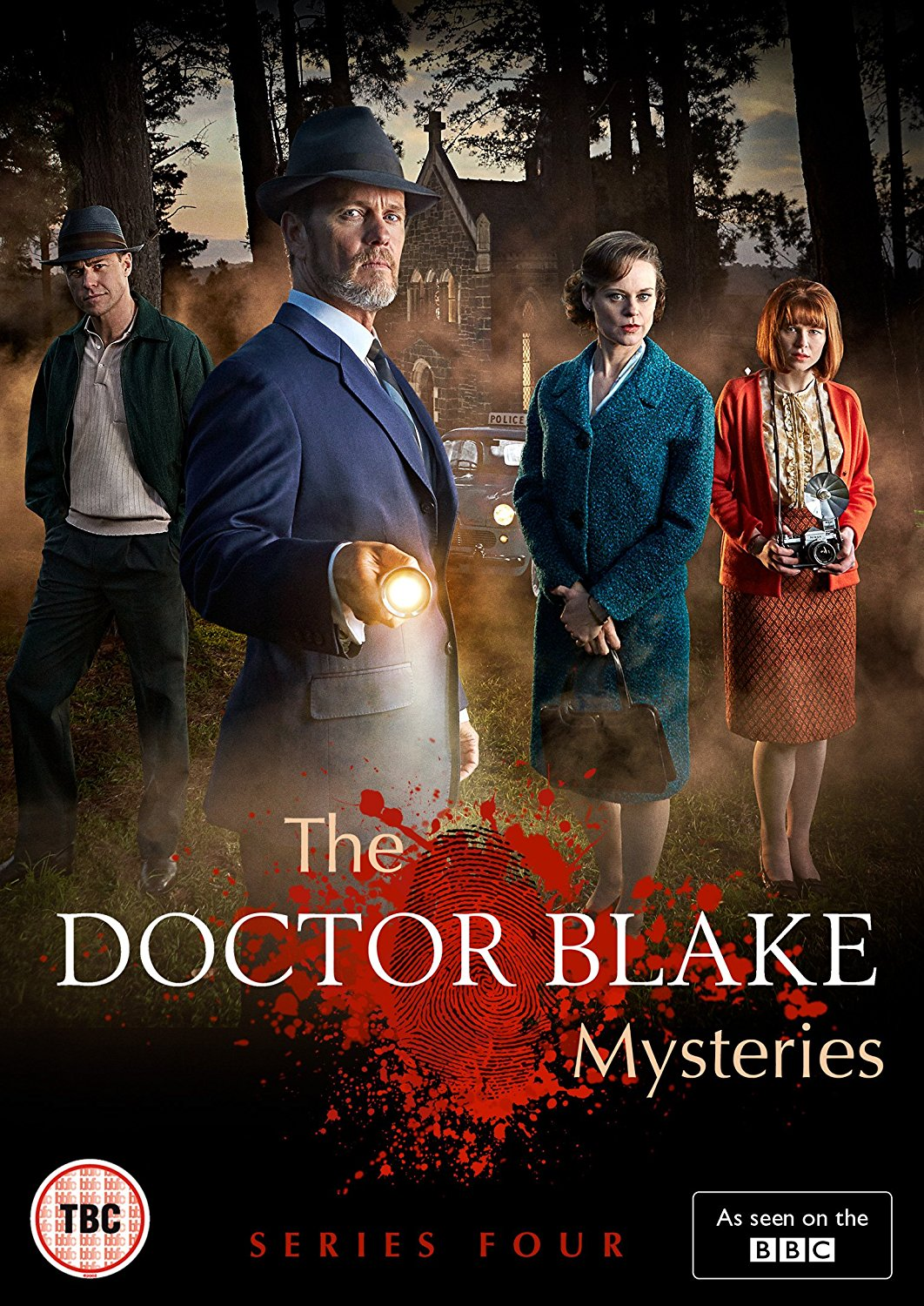 The Doctor Blake Mysteries Season Four - 20158 x 60 minDrama seriesDecember Media/ABC TV AustraliaDoctor Lucien Blake (Craig McLachlan) and his housekeeper and confidant Jean Beazley (Nadine Garner) have returned to Ballarat, ready to finally pursue their romantic feelings towards one another. But their arrival coincides with the attack on someone extremely close to them, creating a life-threatening situation that will shake them both to their very core. And just as they're trying to recover from this, Blake is shocked by the sudden appearance on his doorstep of a mysterious figure from a life he can barely remember.
