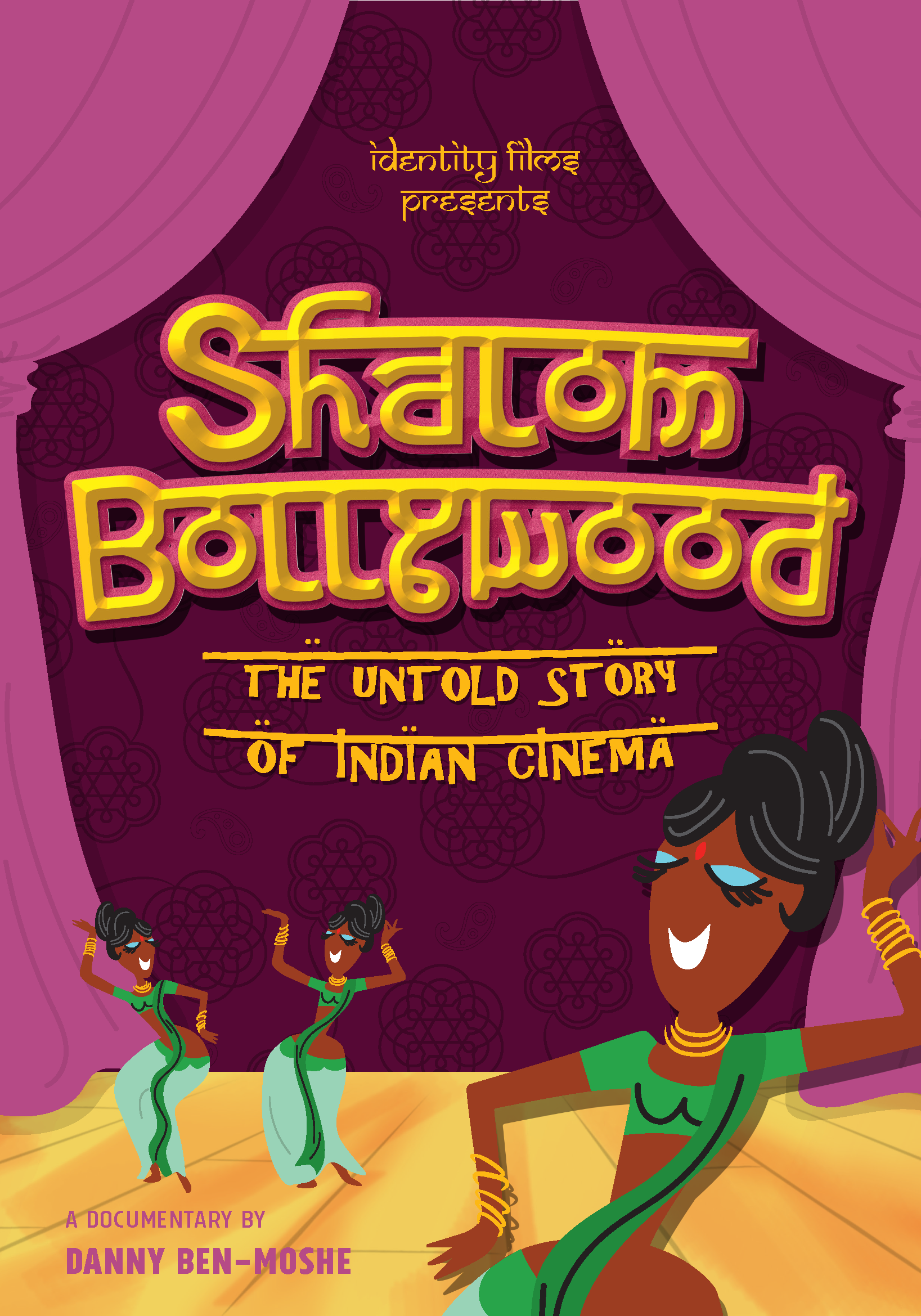 SHALOM BOLLYWOOD - 20171 x 90 minDocumentaryIdentity FilmsSHALOM BOLLYWOOD: THE UNTOLD STORY OF INDIAN CINEMA is a feature length documentary, told in the style and feel of a Bollywood film. It reveals the unknown history of India's tiny 2000 year old Indian Jewish community and its female superstars who shaped the world's biggest film industry.