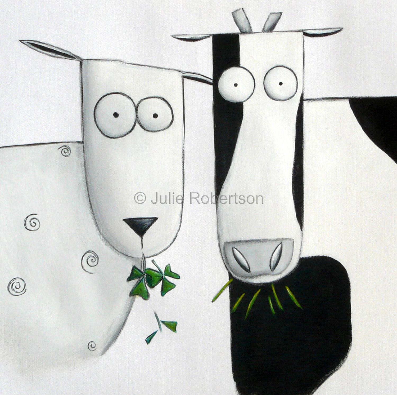 05-Sheep and Cow Eating.jpg