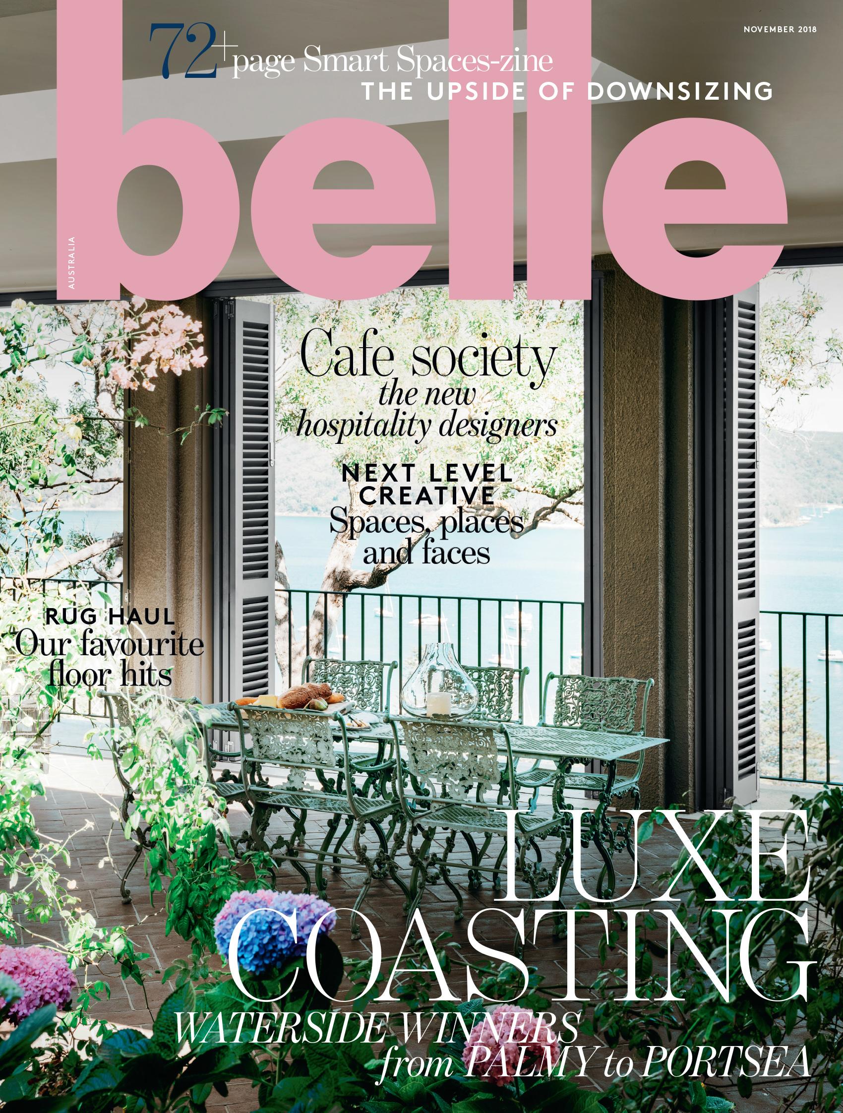 Belle Magazine  November 2018