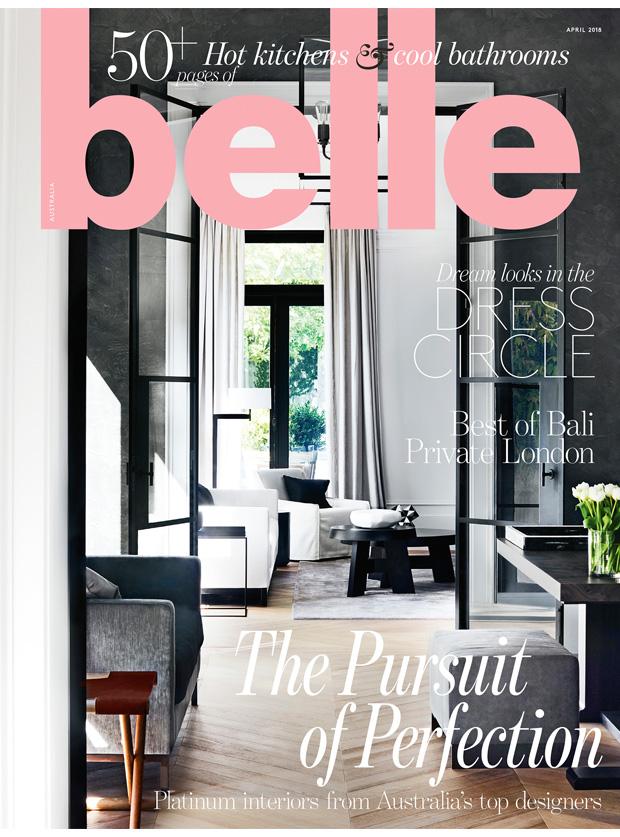 Belle Magazine  April 2018