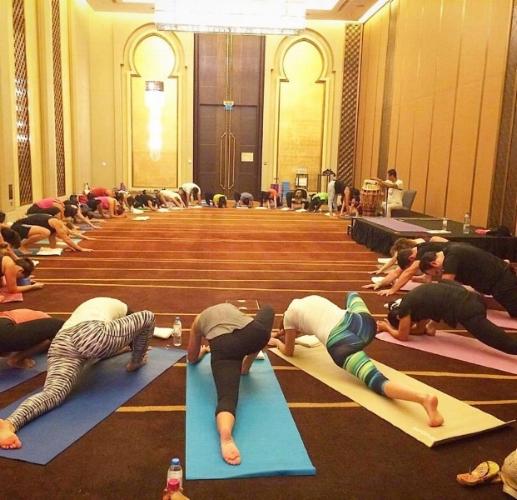 Abu Dhabi World - International Yoga Day 2017