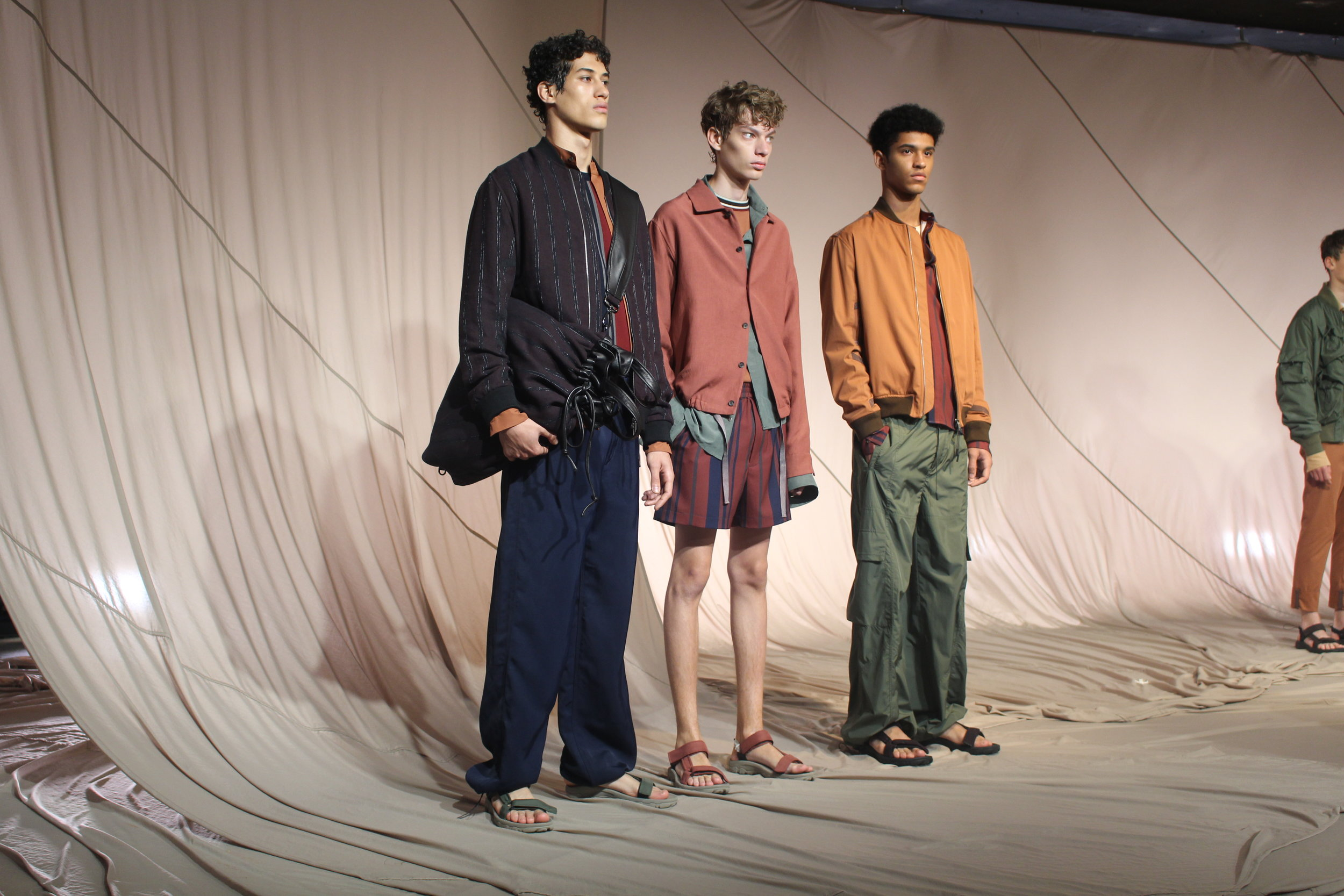 London Fashion Week Mens Qasimi Spring/Summer 18 : Photographed by Tom Halford