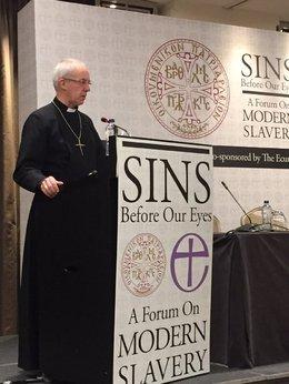 Archbishop Justin speaks in Instanbul