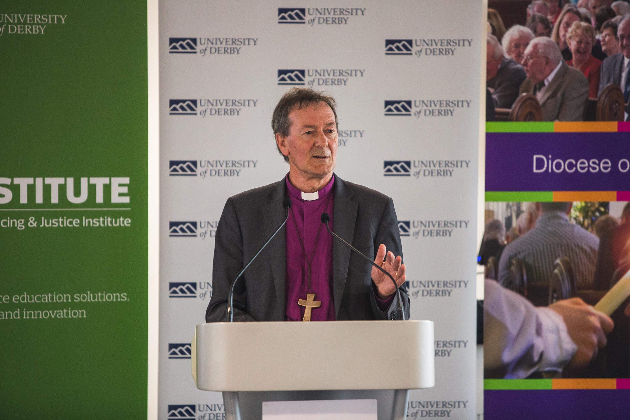 Bishop Alastair Redfern addresses business leaders at Action 2030
