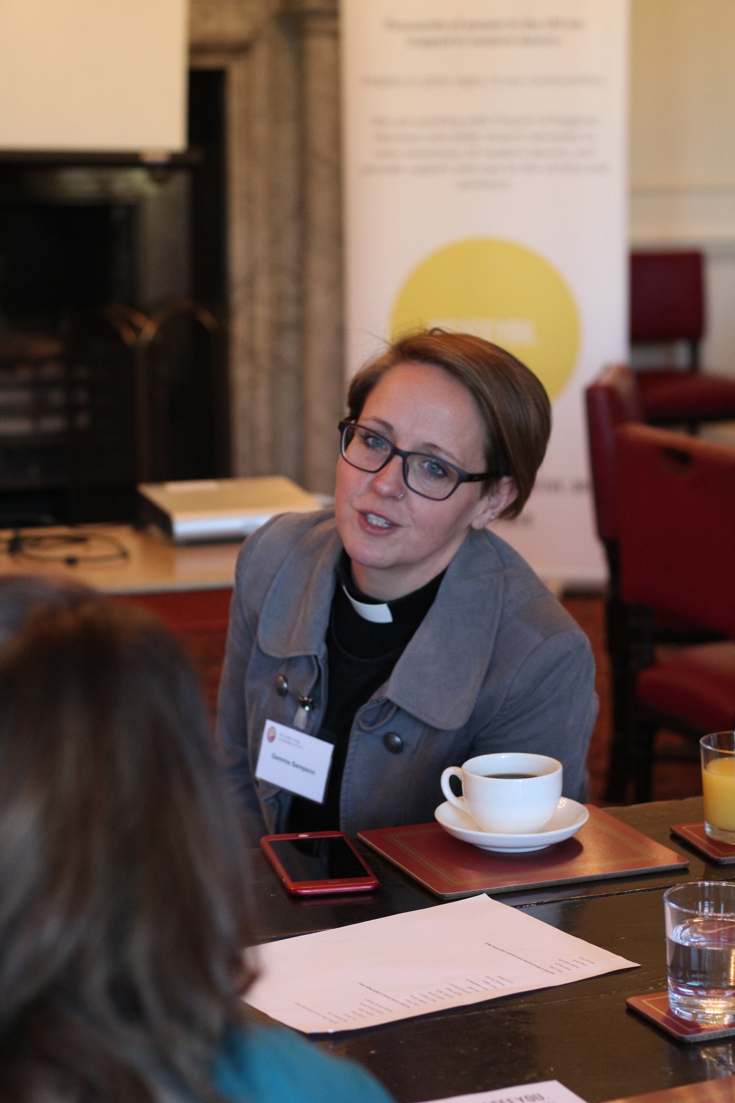 Revd Gemma from Durham Diocese