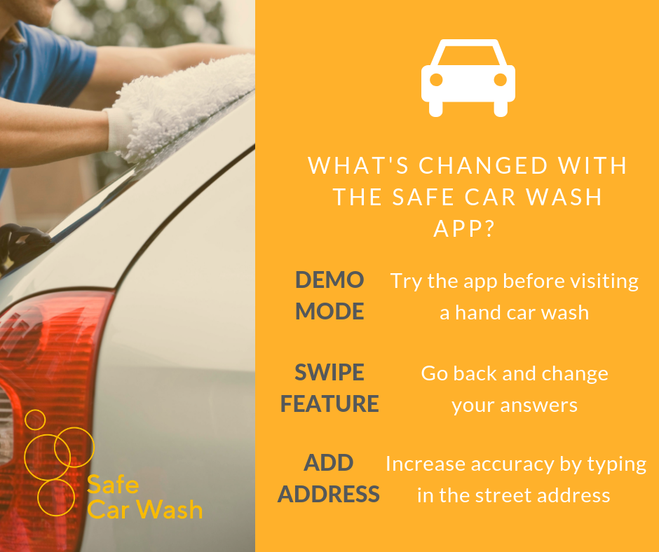 Download the new and improved Safe Car Wash app — The Clewer Initiative