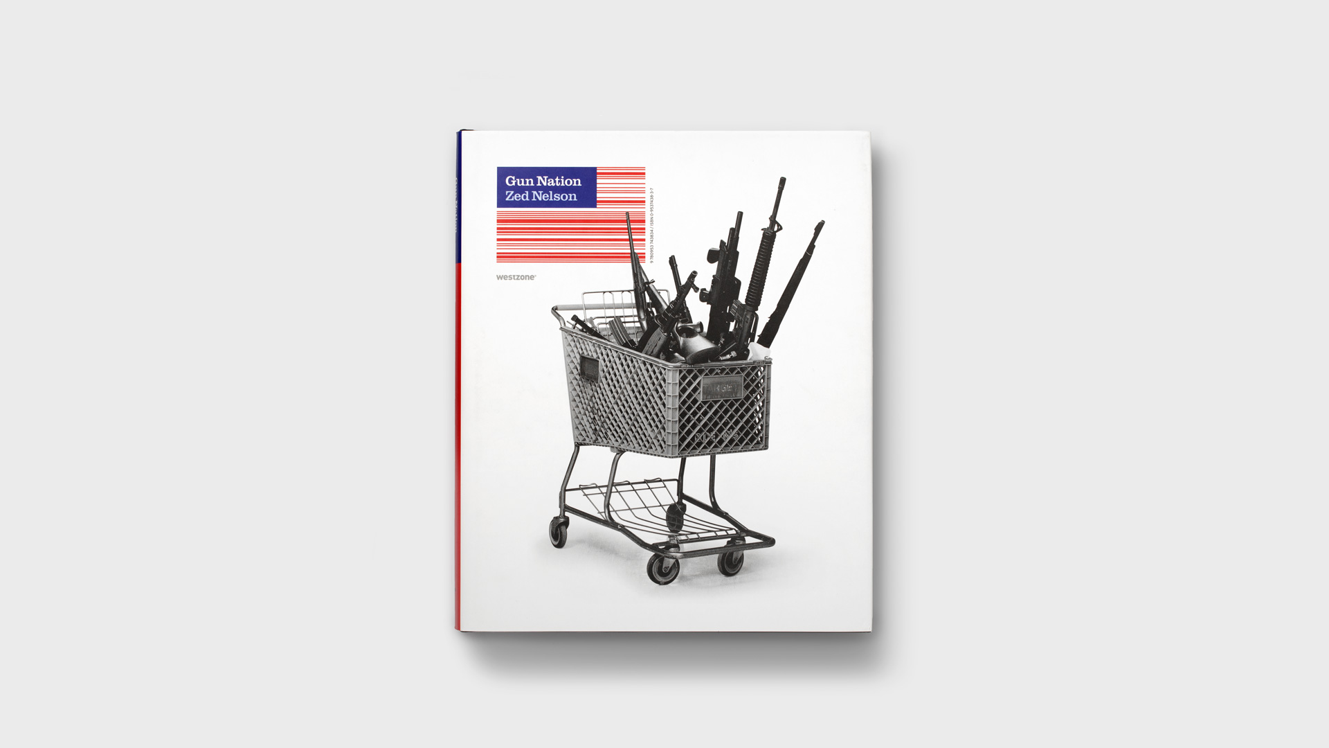 Zed Nelson's Gun Nation: publication design