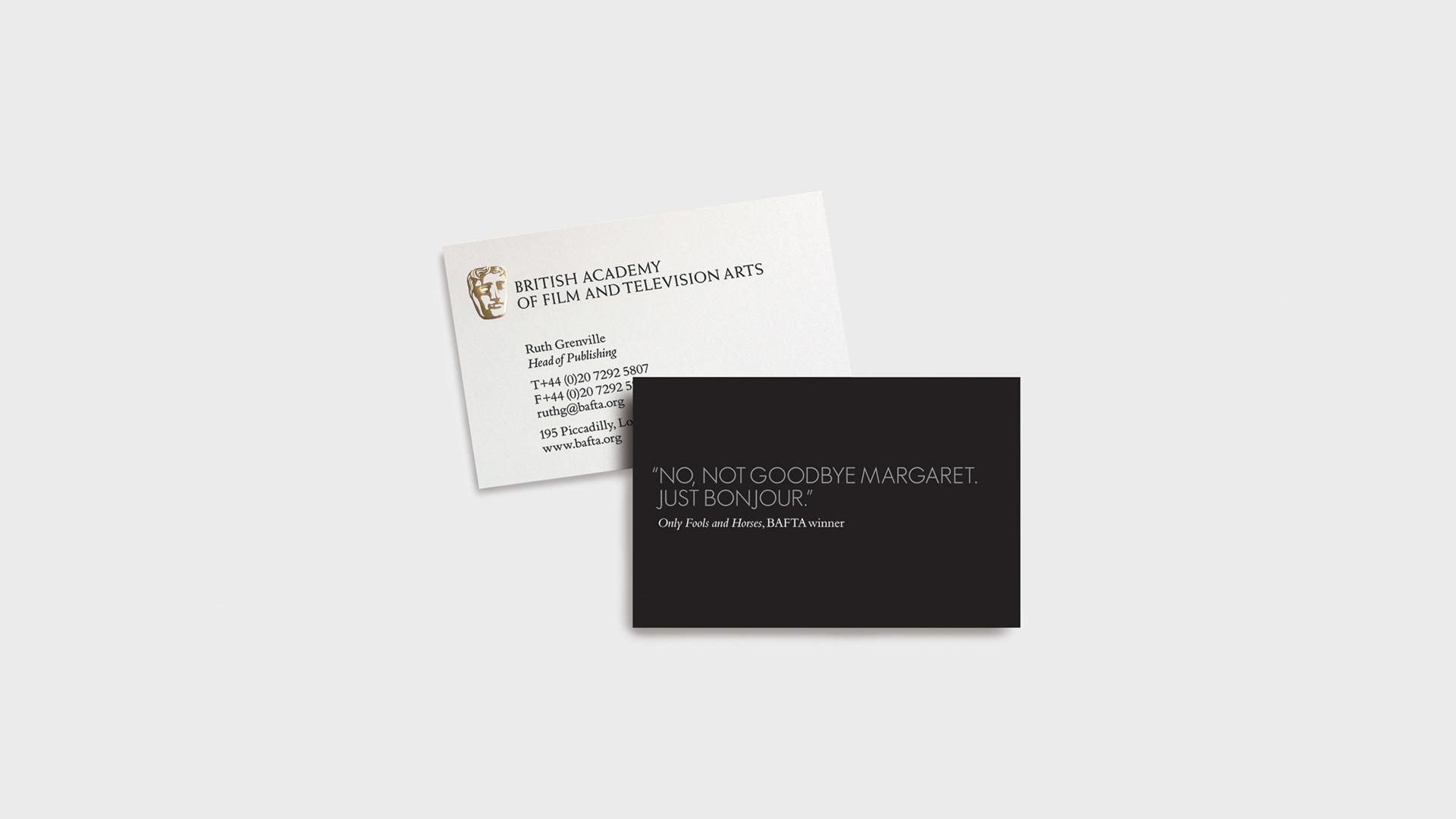 BAFTA: brand identity