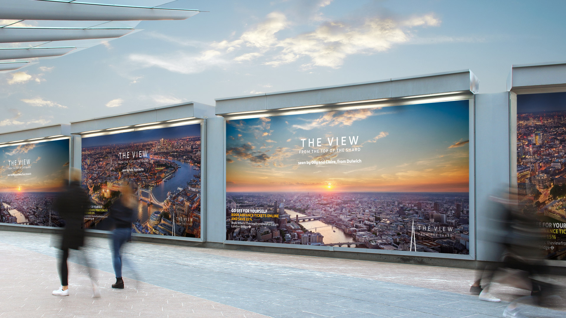 The View from the Shard: brand campaign