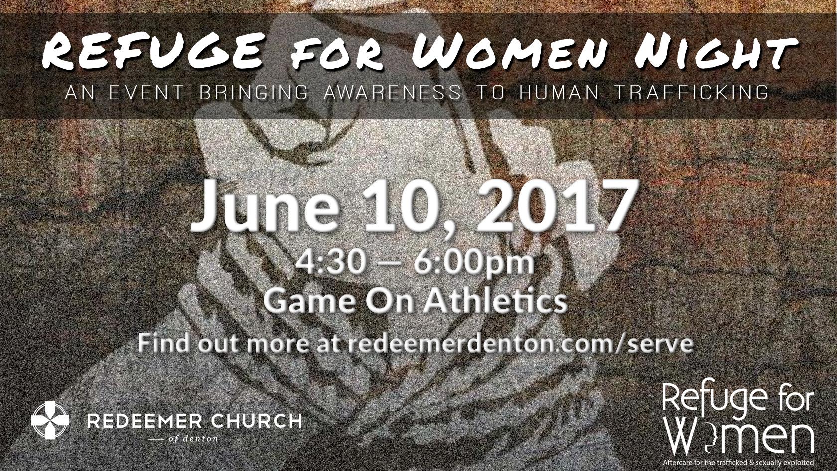 refuge for women human trafficking image