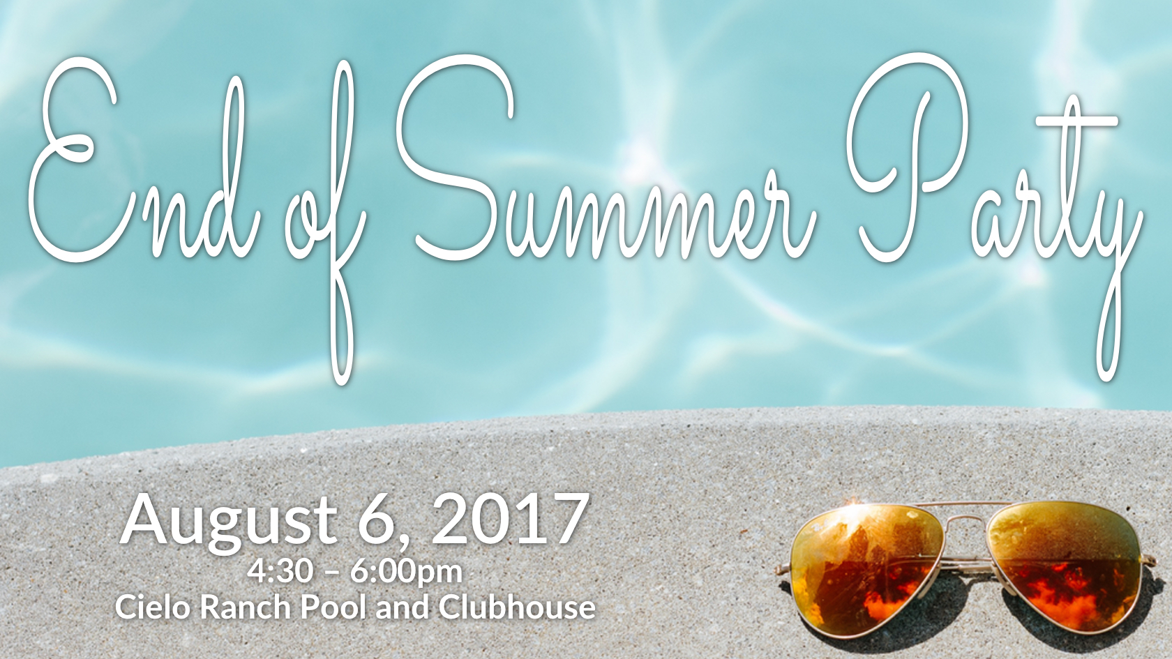 end of summer party image