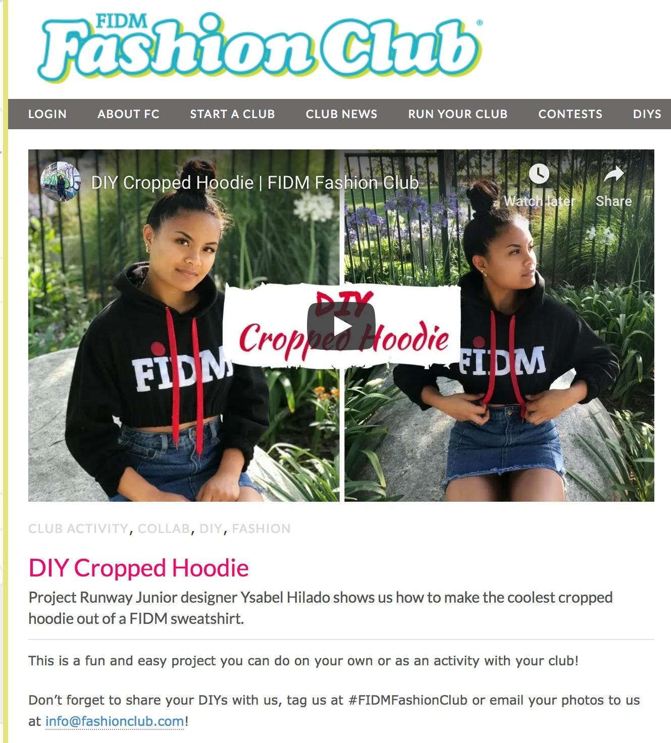 FIDM Fashion Club