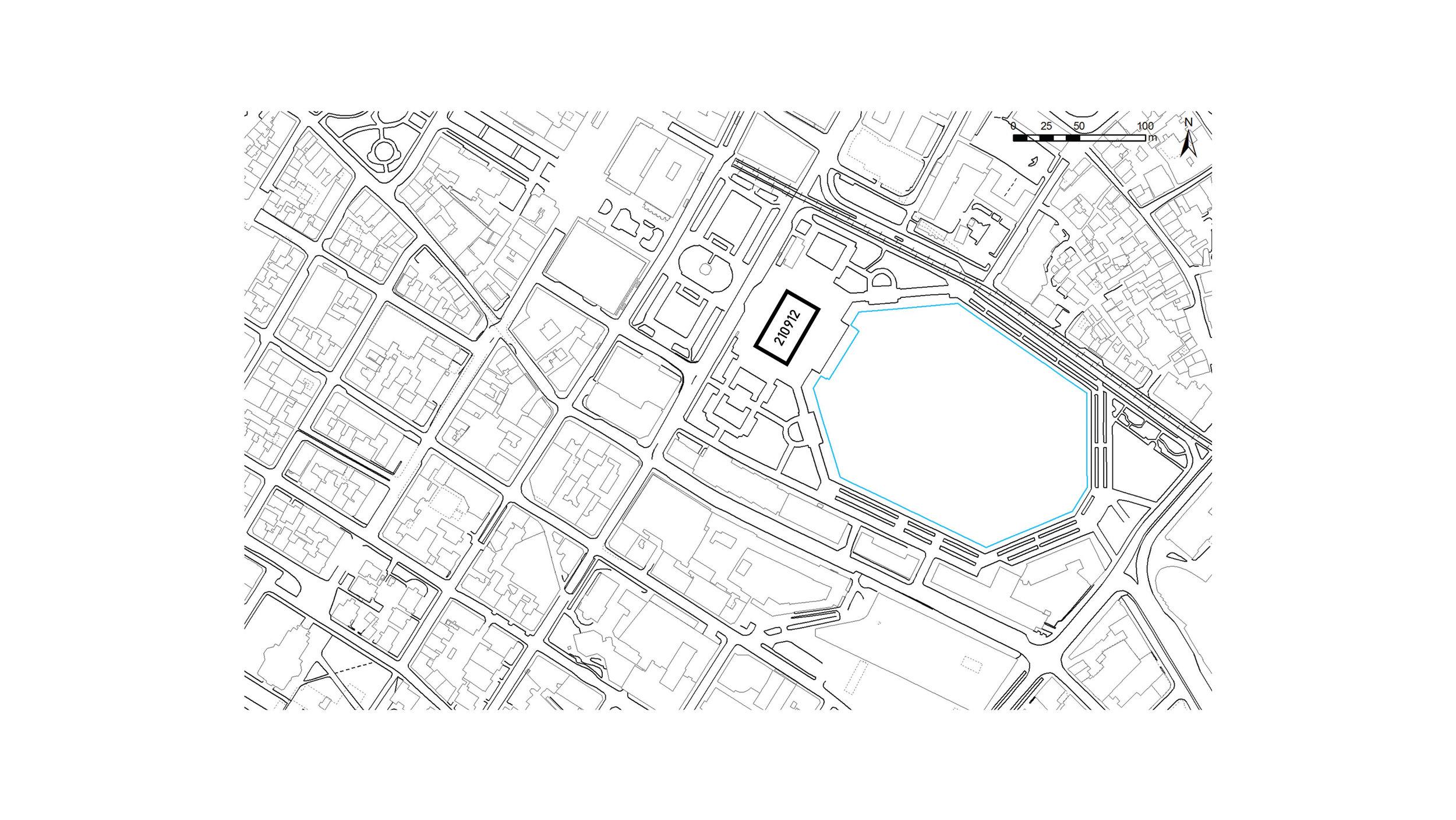 210912 Pavilion location
