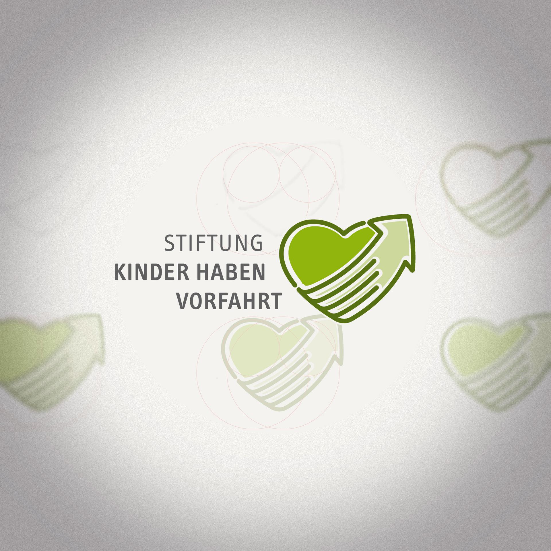 Wort-Bildmarke »Stiftung Kinder haben Vorfahrt«