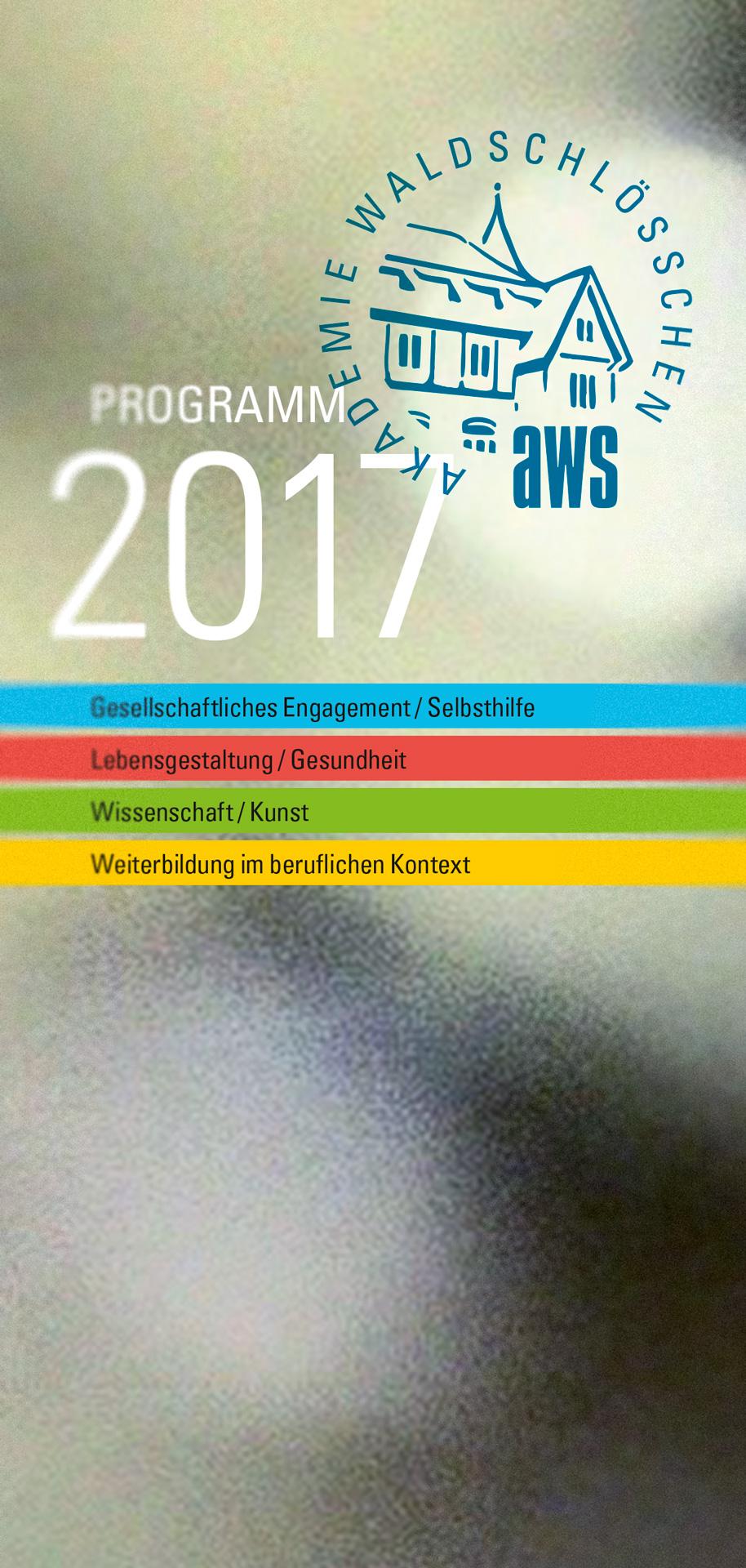 Jahresprogramm 2017 - Titel