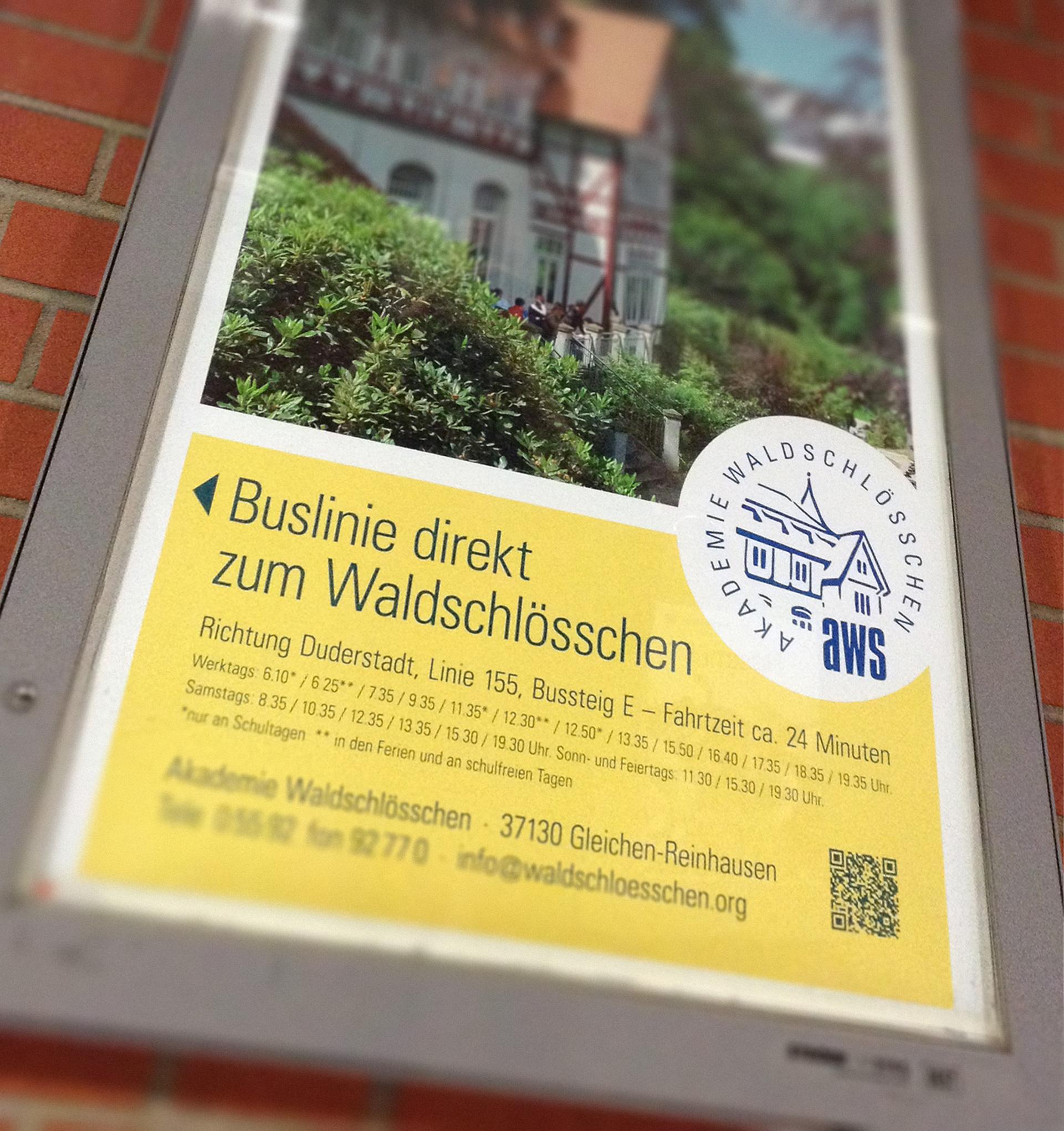 Plakat - Bahnhof Göttingen
