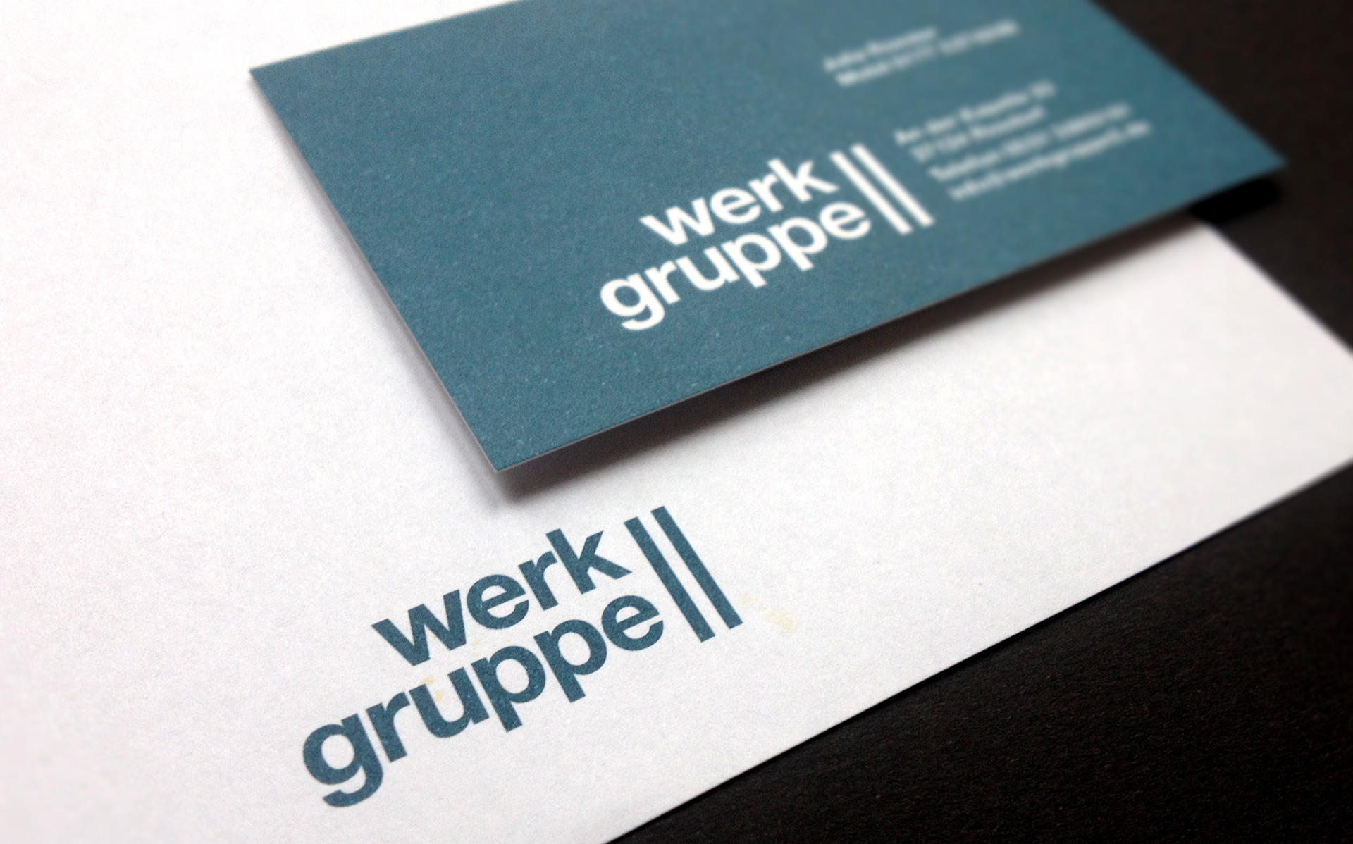 werkgruppe2 Göttingen, Geschäftspapiere