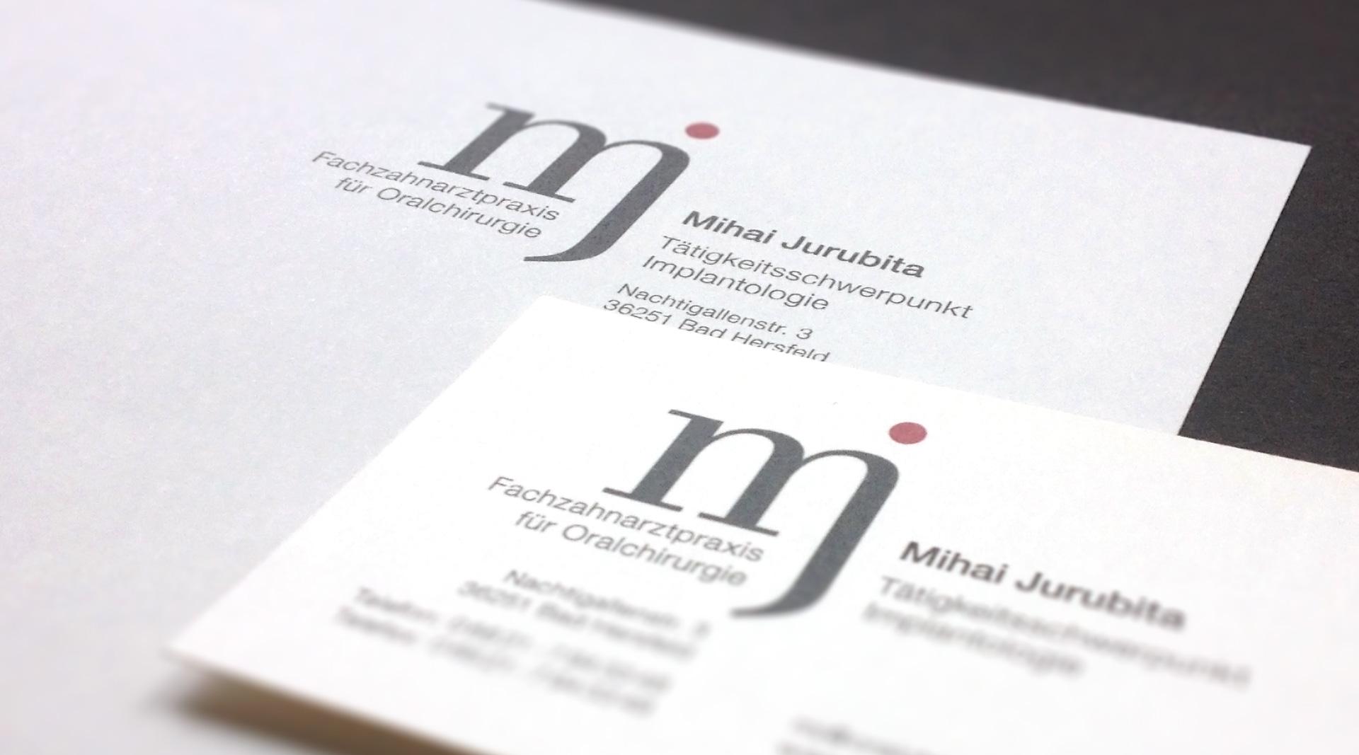 Mihai Jurubita Bad Hersfeld, Wort-Bildmarke