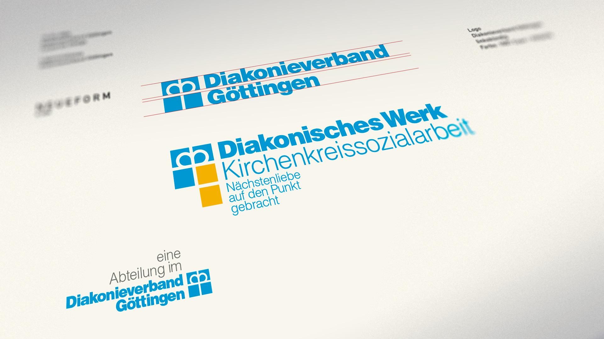 Diakonieverband Göttingen, Wort-Bildmarken-Systematik