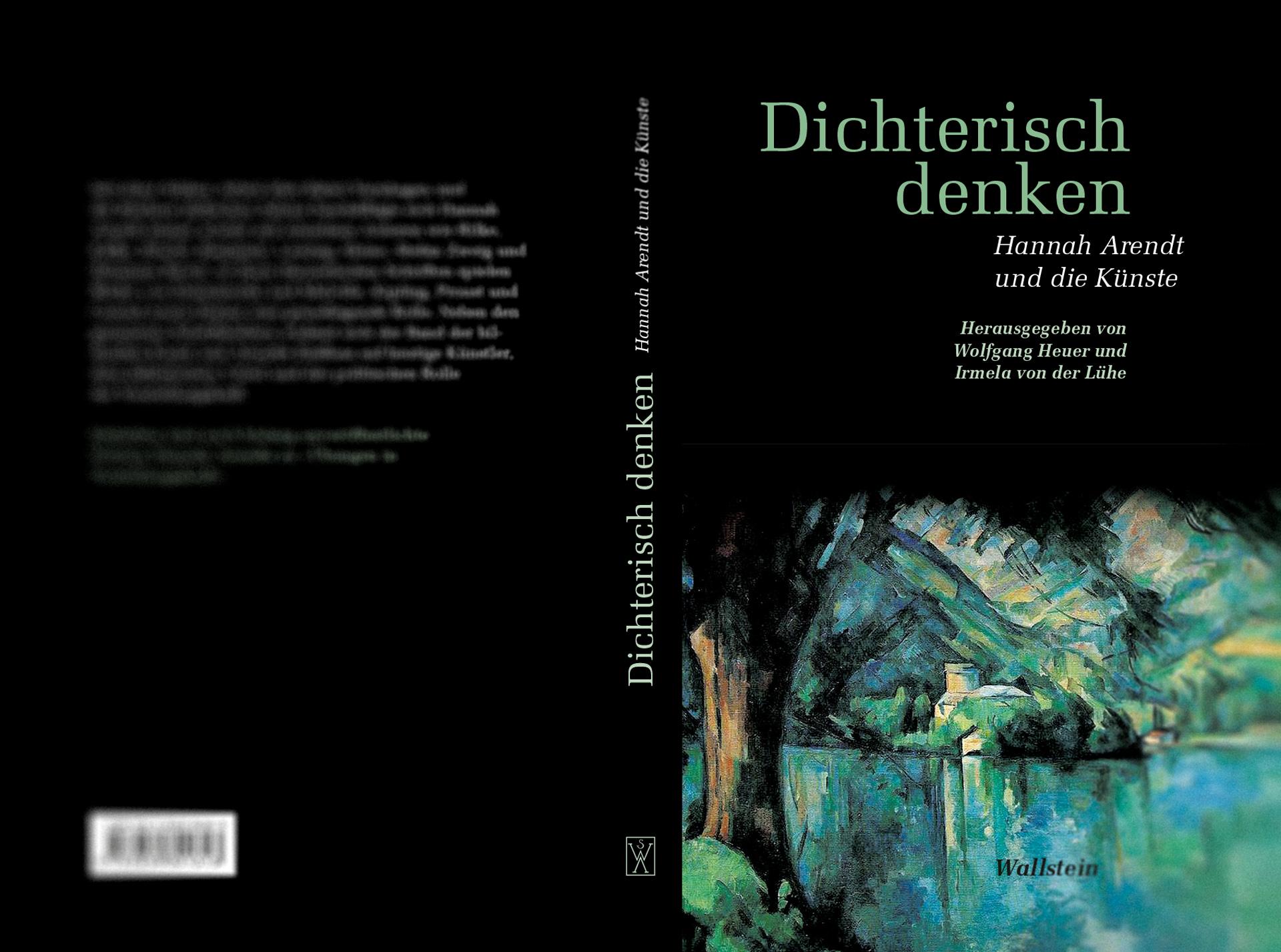 »Dichterisch denken« - Hannah Arendt und die Künste, Umschlaggestaltung