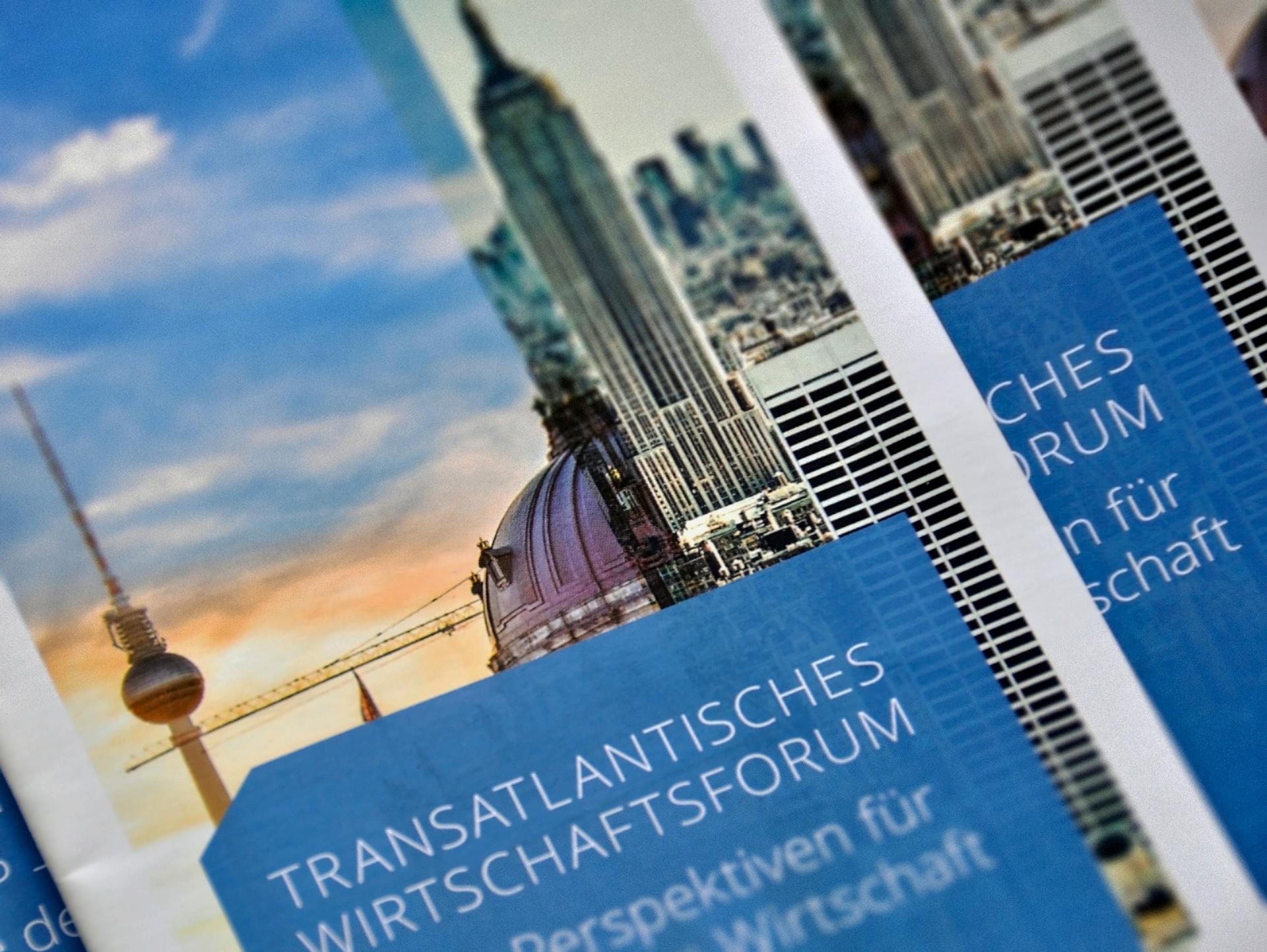 Transatlantisches wirtschaftsforum - Veranstaltungsdesign 2015 Berlin