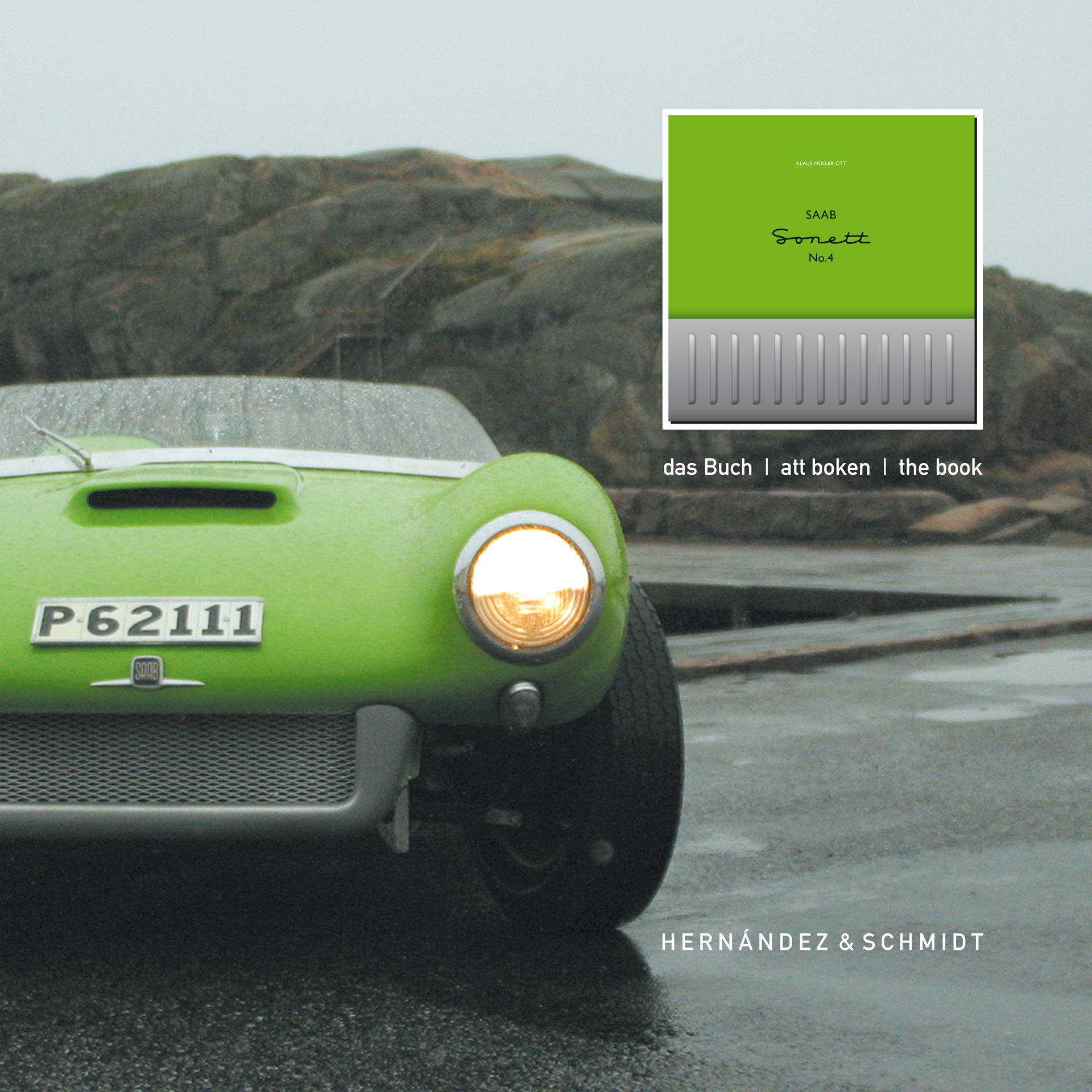 »Saab Sonett No.4«, Trollhättan, Schweden, Werbedisplay