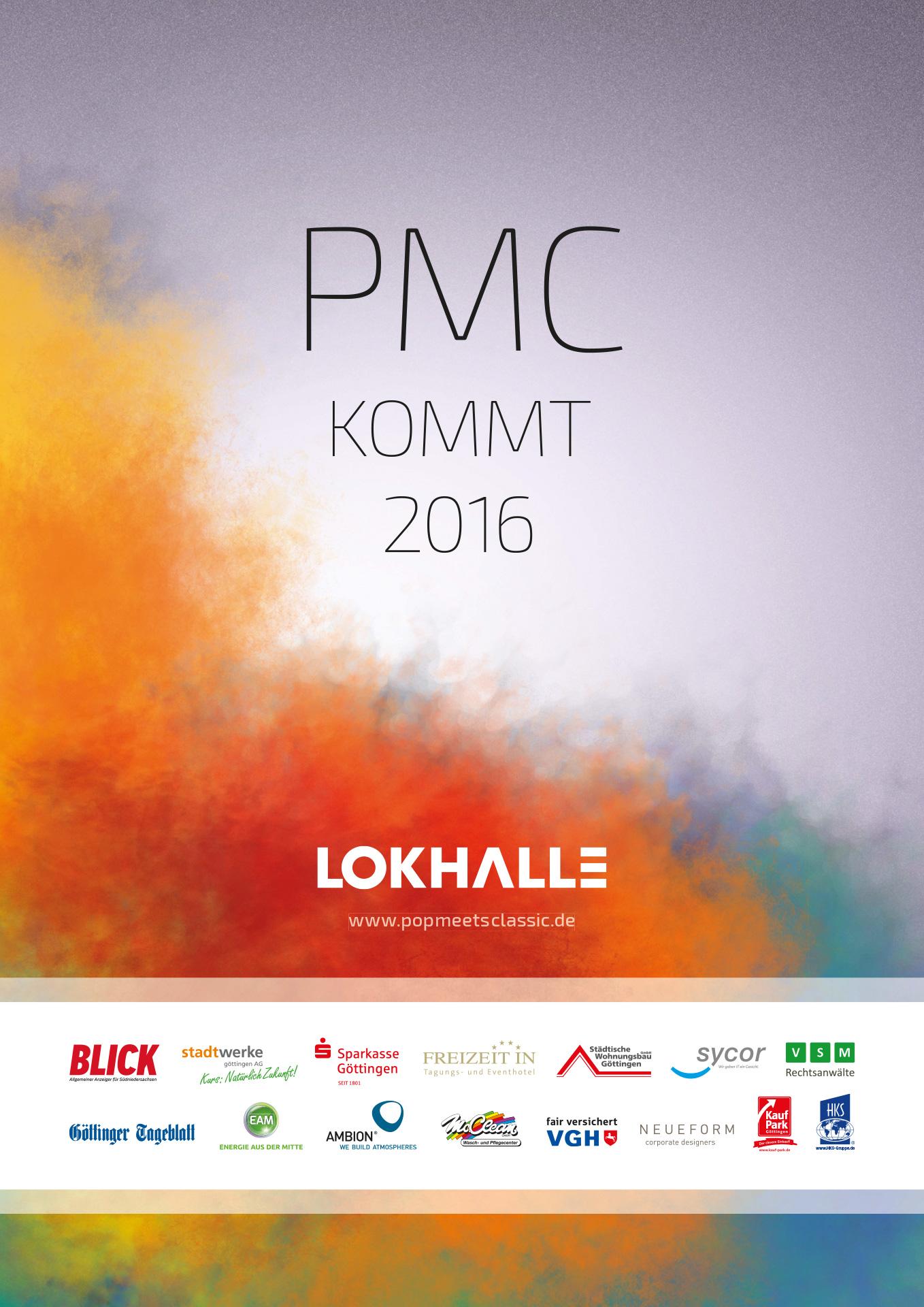»Pop Meets Classic« Göttingen, Veranstaltungsplakat