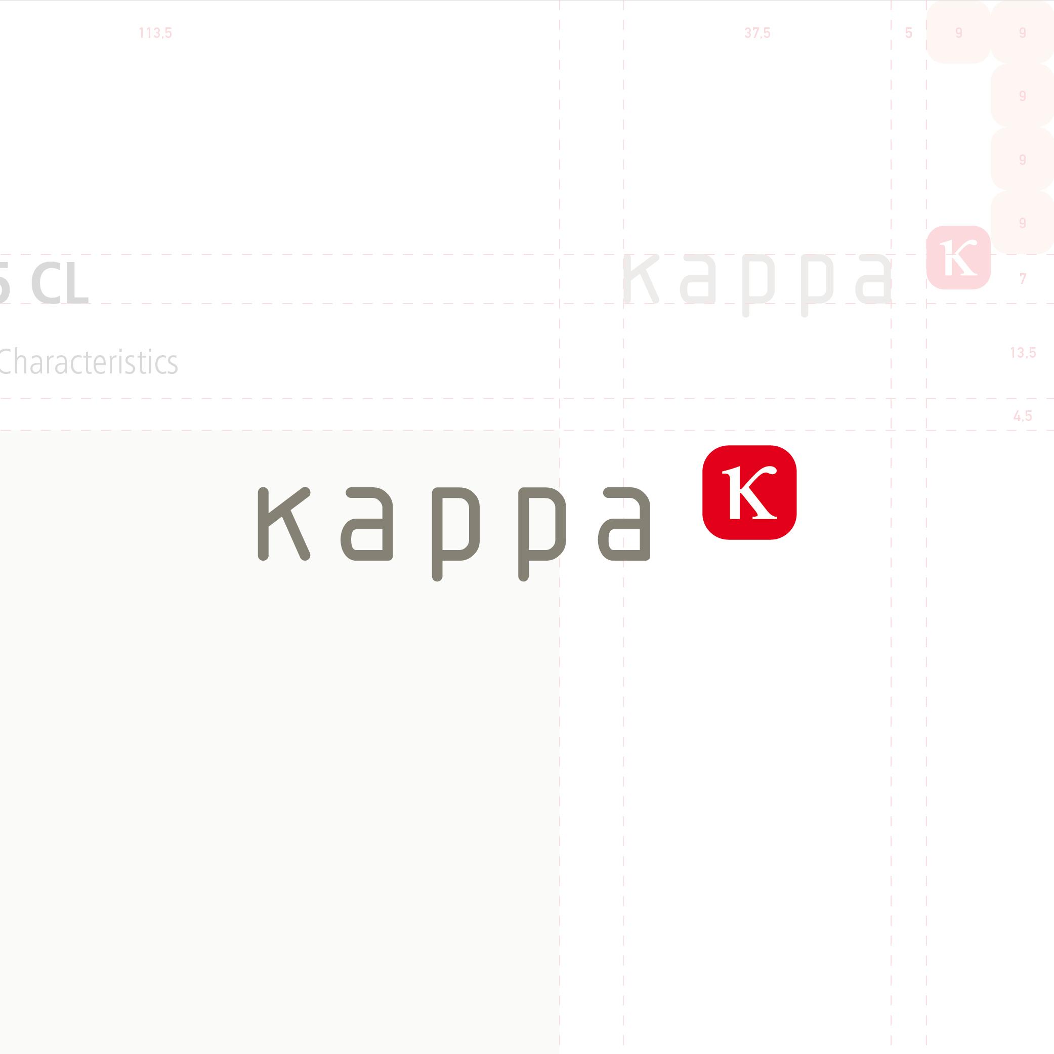 Kappa Klein Lengden, Wort-Bildmarke