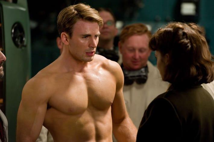 Chris Evans as Captain America (2011)  https://imgflip.com