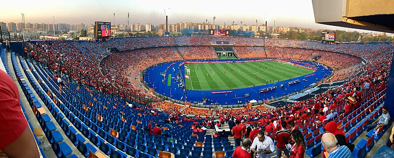 The Cairo International Stadium, the home of Al Ahly SC