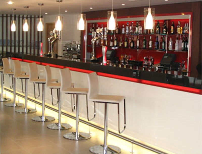 Bar area after..
