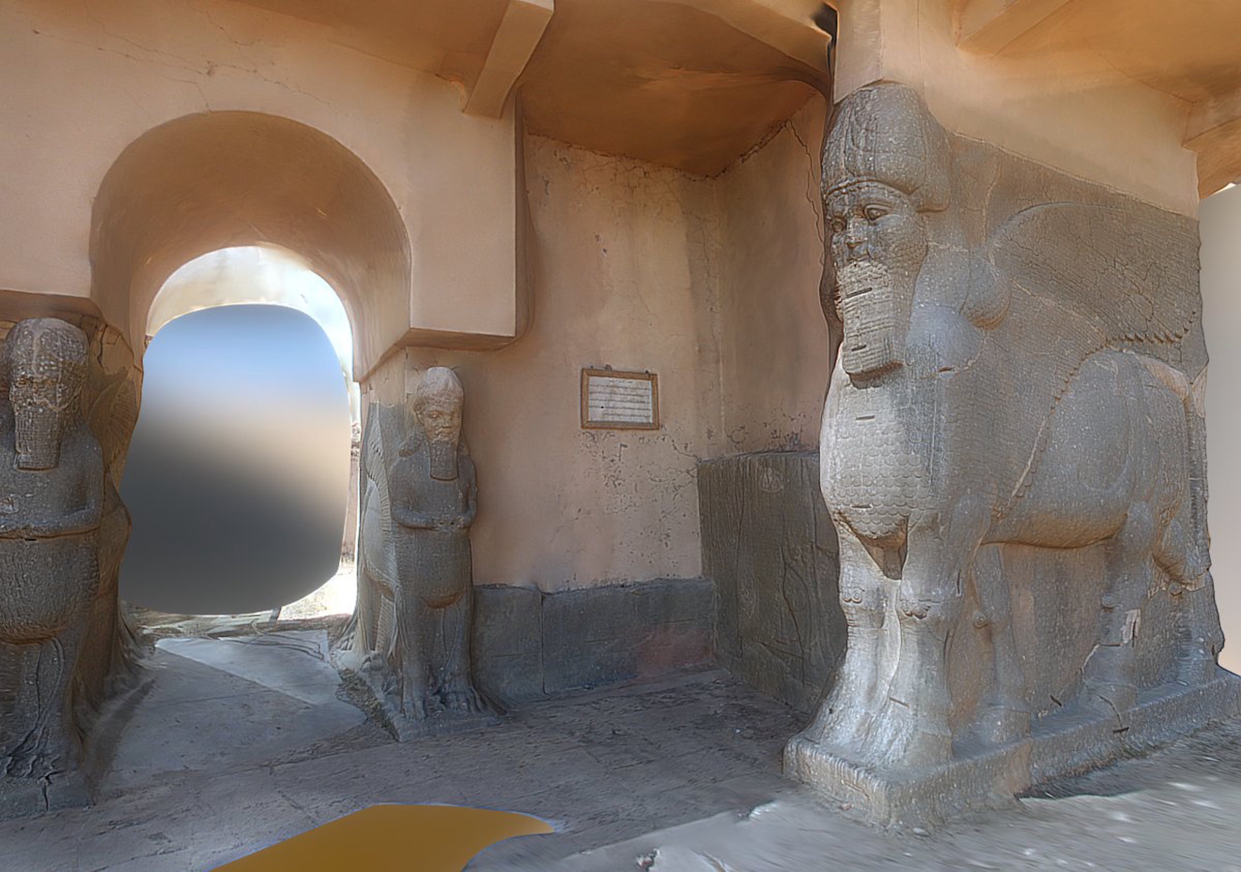Världsarvet är i fara, från såväl terrorister som naturkatastrofer. Museet i Mosul i Irak förstördes av IS i februari 2015 men har uppstått i virtuell form tack vare ett stort arbete utfört av organisationen Rekrei.