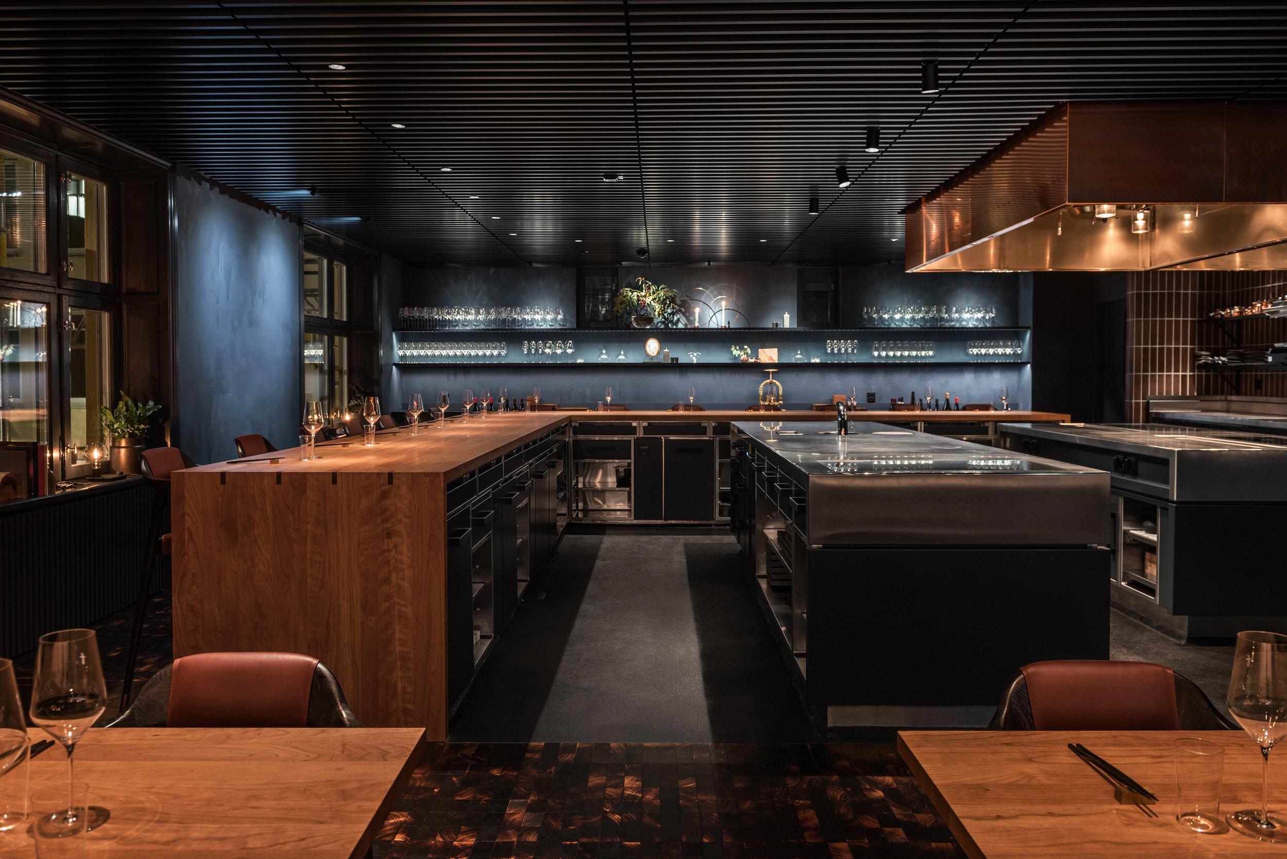 Frantzéns restaurang, ljussatt av Sofie Bamberg och Anna Ekberg / Foto: Erik Lefvander