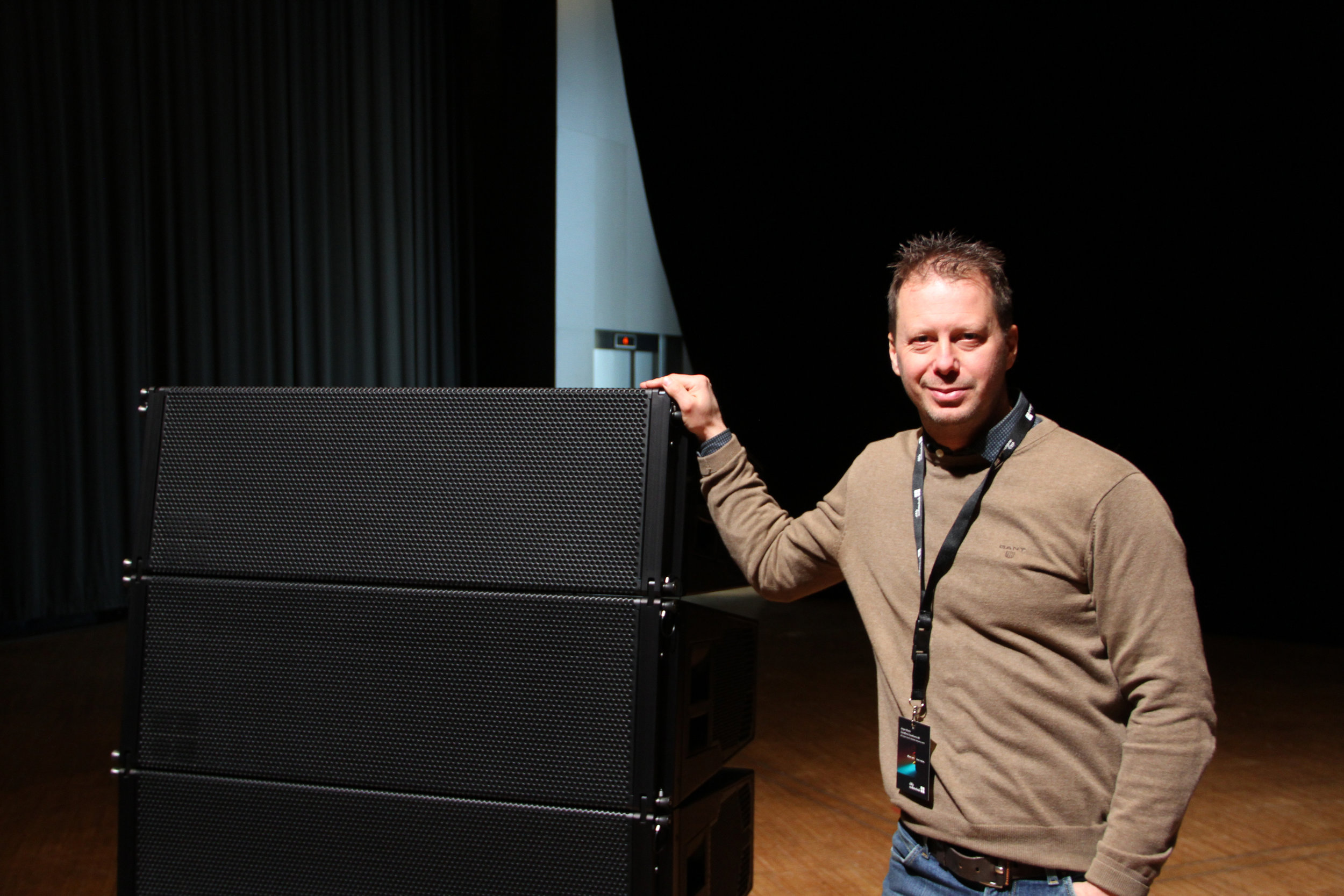 Jörgen Westin, vd och projektledare på Soundforce Scandinavia, har haft att göra med d&b sedan många år tillbaka och tycker att man märker nya nyanser hela tiden ju mer man jobbar med KSL.