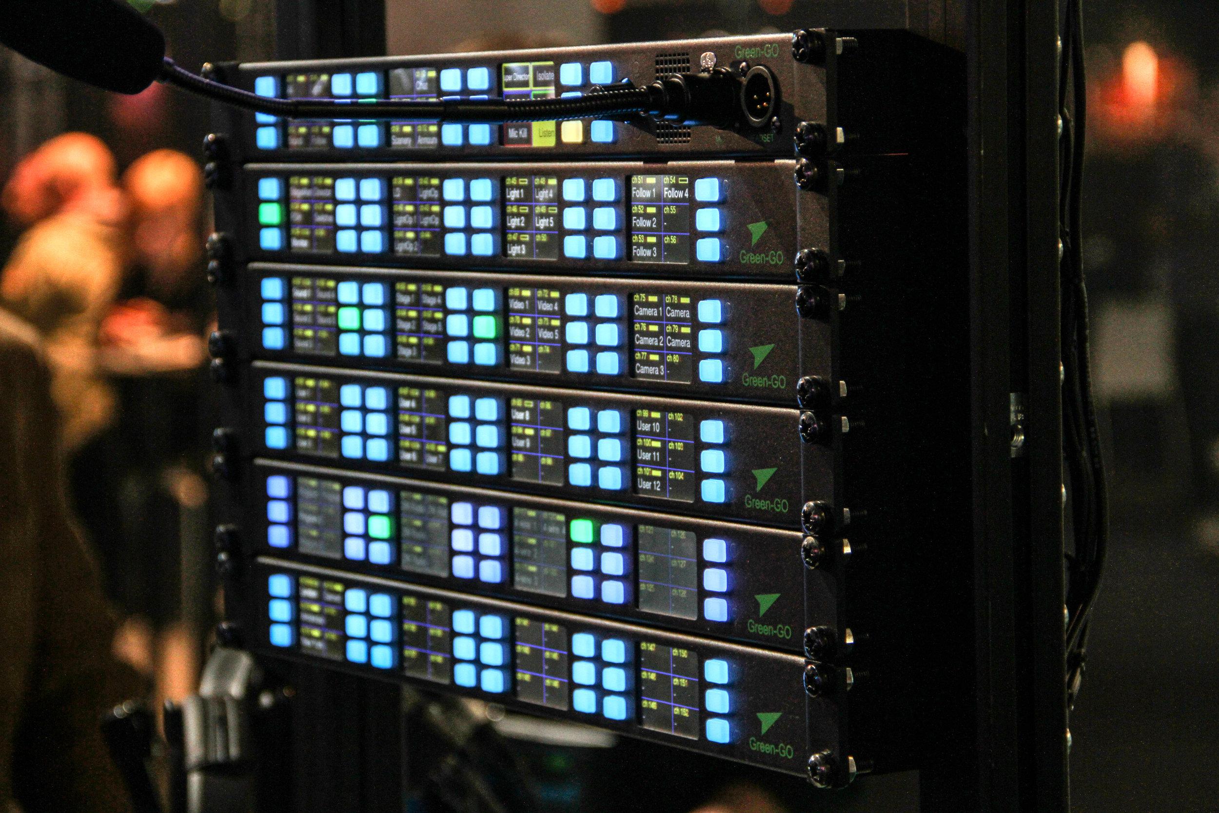 På intercom-sidan var Green-Go en av tillverkarna som fångade vår uppmärksamhet. Bland annat genom multikanalsracket MCXEXT.